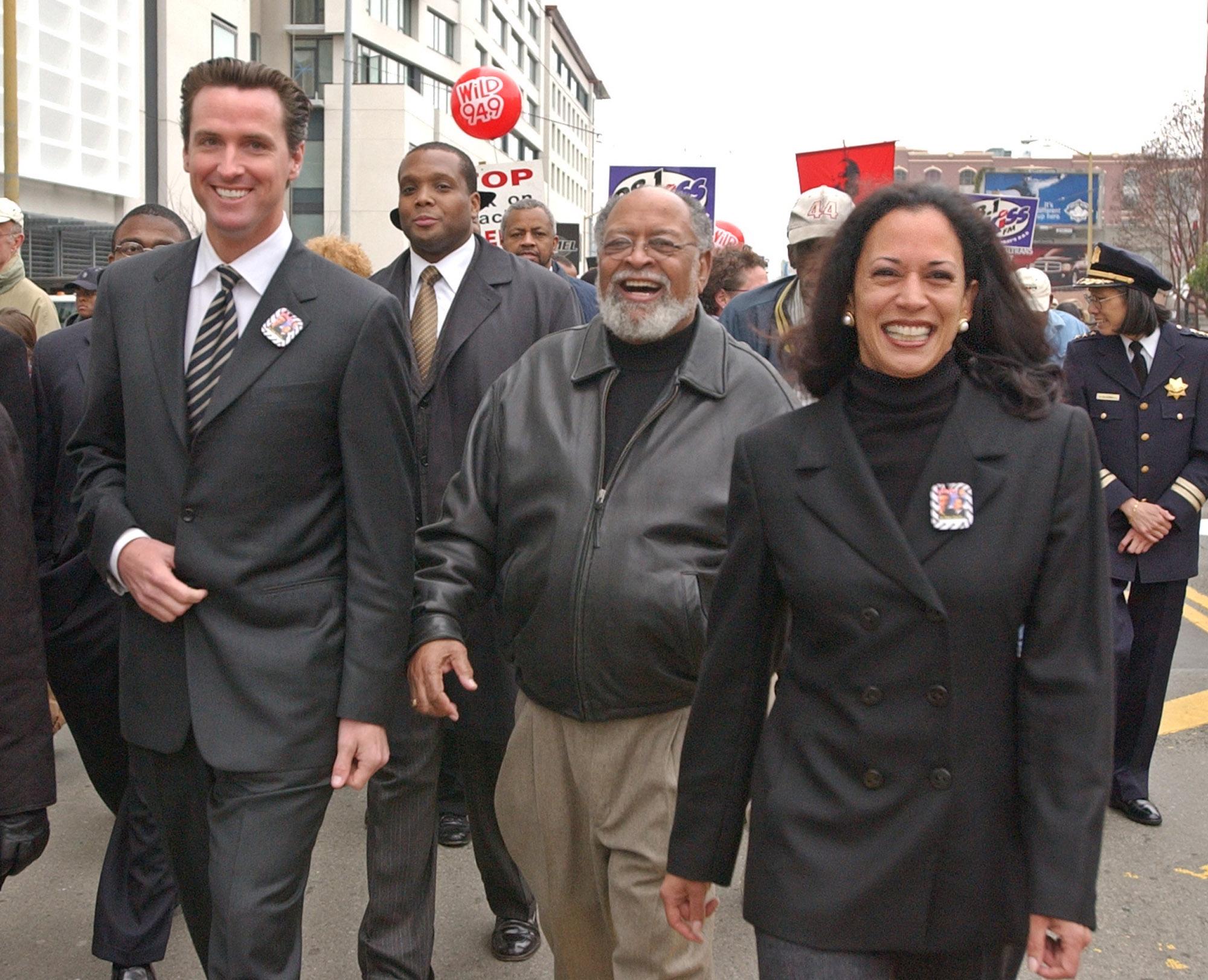 Kamala Harris Learned How To Become A Political Brawler In San Francisco The Washington Post