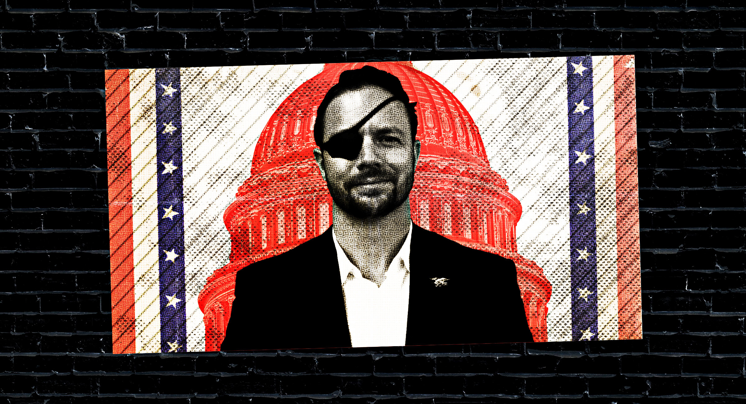 """Dan Crenshaw, a former Navy SEAL, was elected to Congress from the Houston area after running for office for the first time. """"He's just tenacious,"""" said his predecessor, retiring Rep. Ted Poe (R)."""