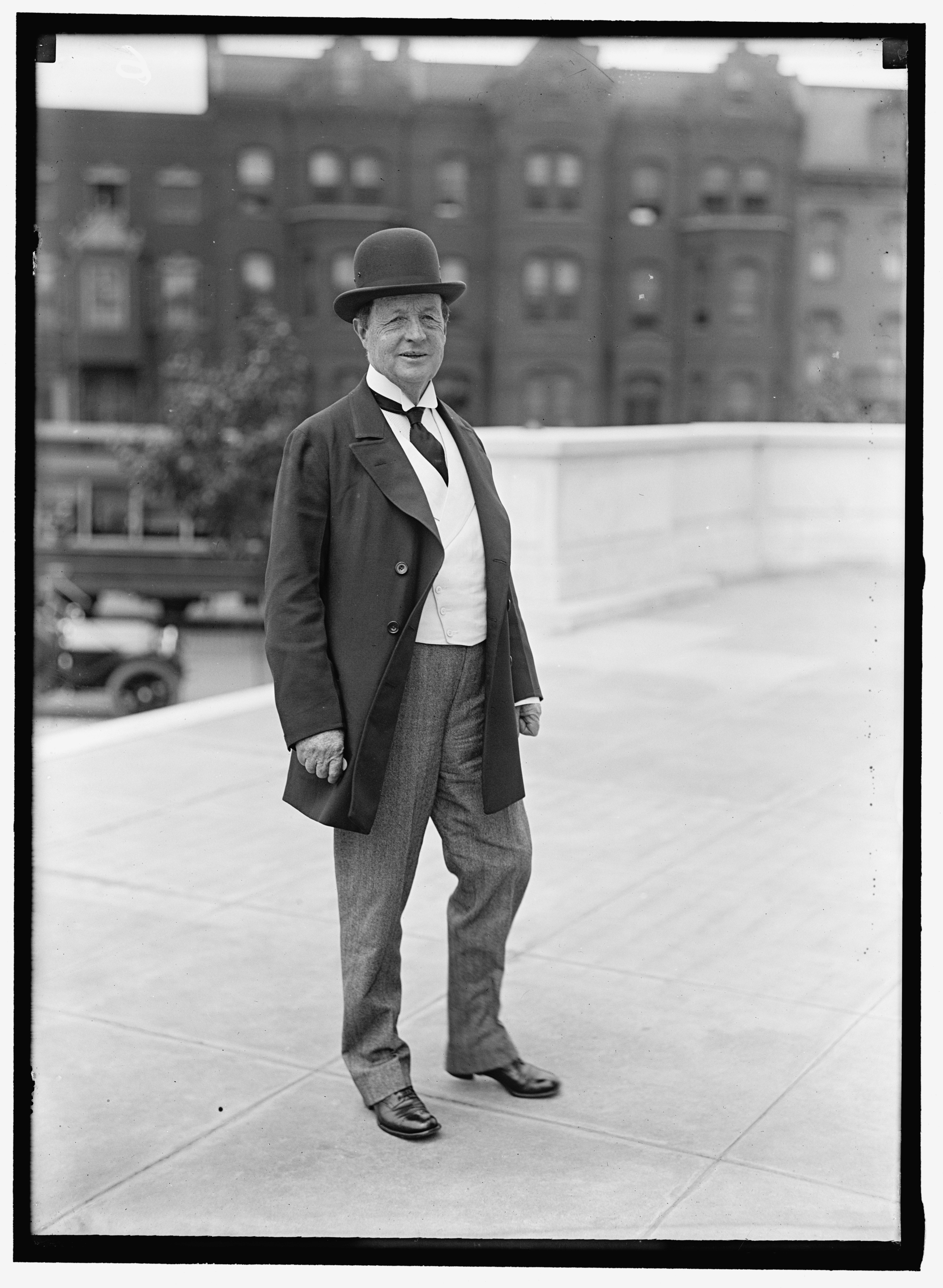 Francis Griffith Newlands served in both the U.S. House and Senate representing Nevada and was a founder of the Chevy Chase community in Maryland. (Library of Congress) (N/A/Library of Congress)