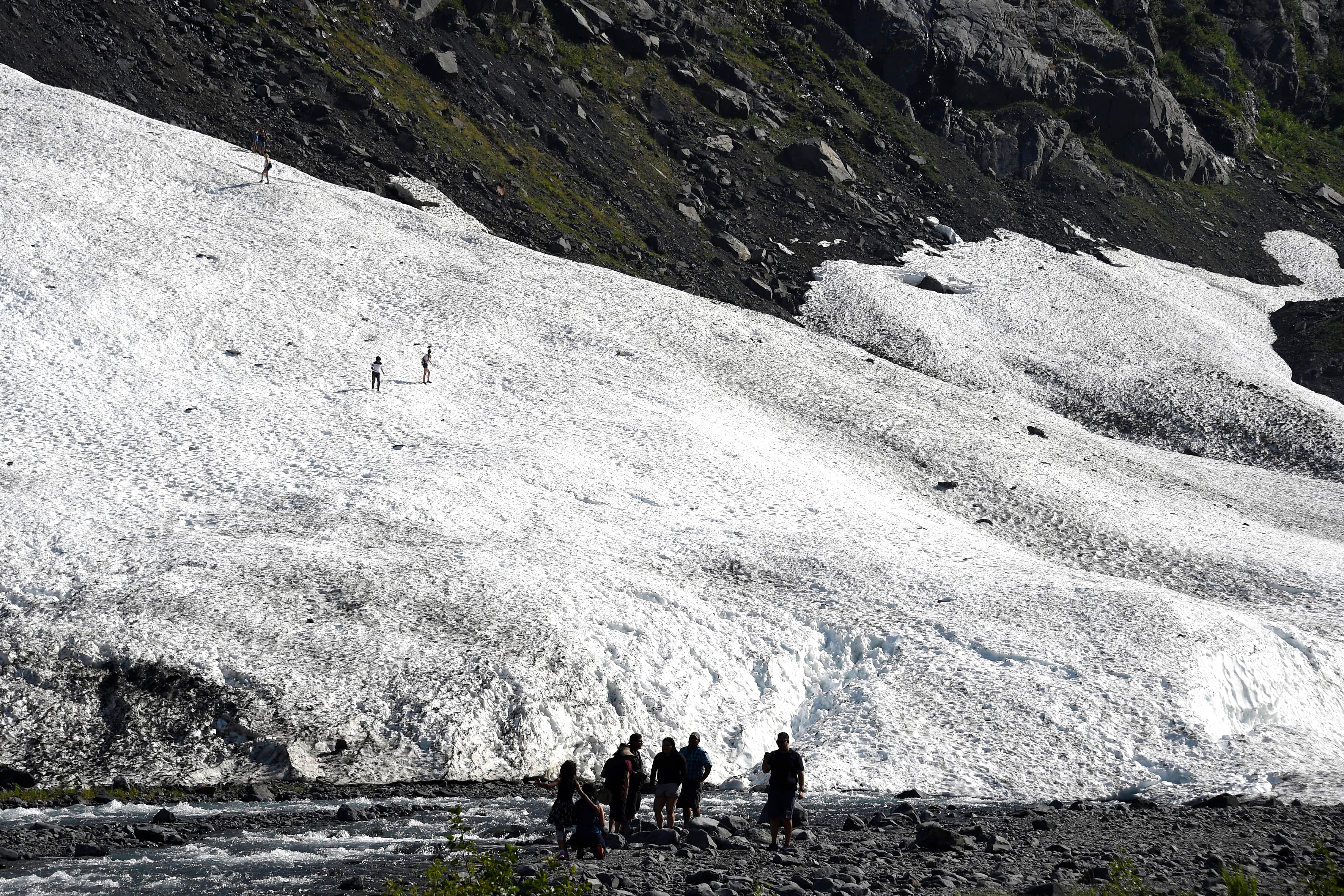 Scientists say climate change is pushing Alaska's weather