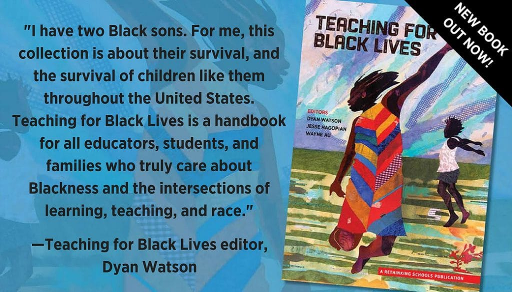 washingtonpost.com - Valerie Strauss - 'Teaching for Black Lives' - a handbook to help all educators fight racism