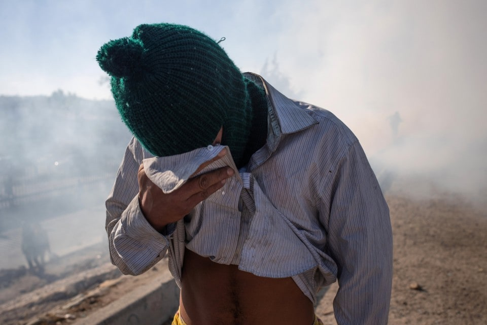 Tear gas and intimidation won't fix the root causes of migration