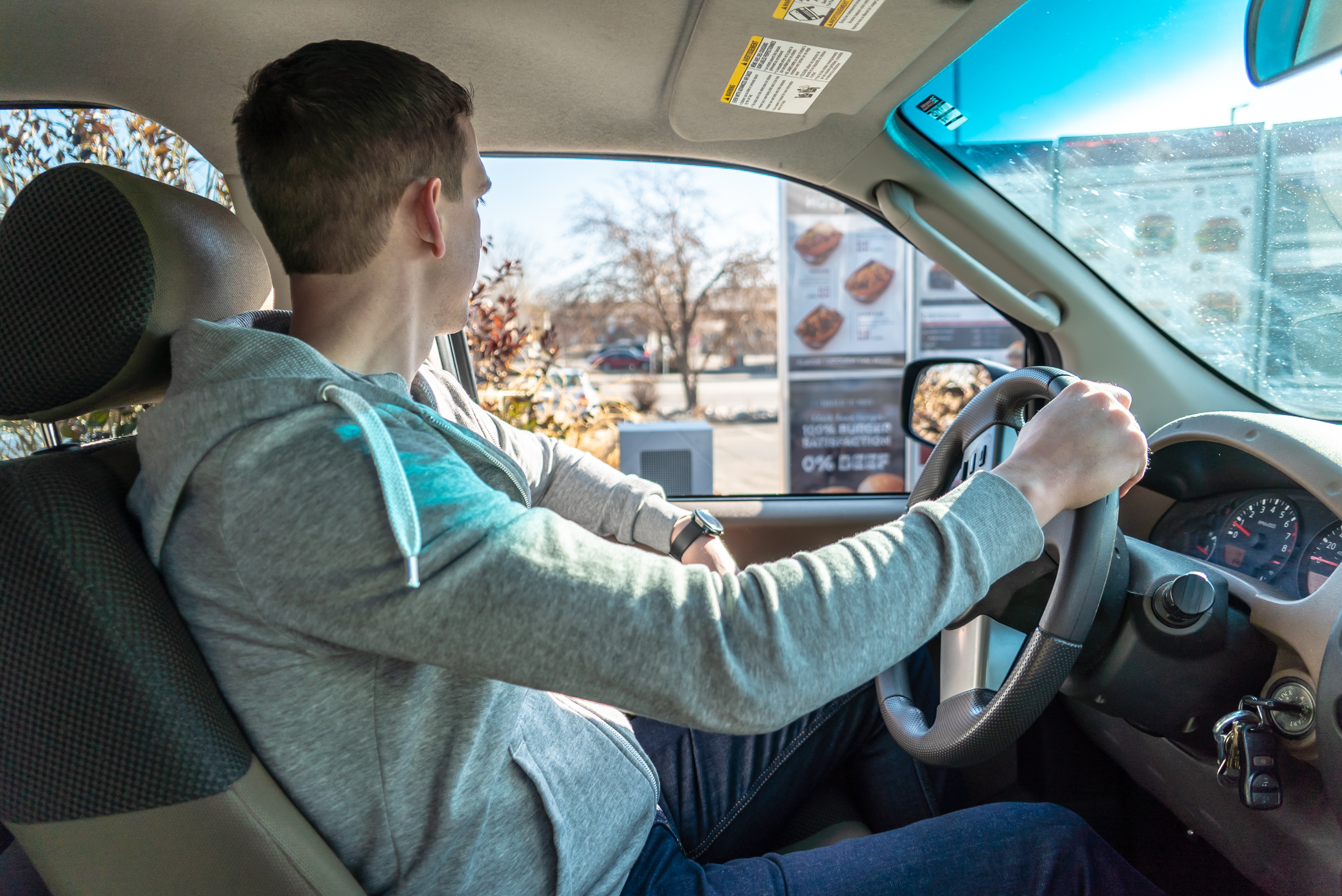 At this fast-food drive-through, the person taking your order might not be a person at all
