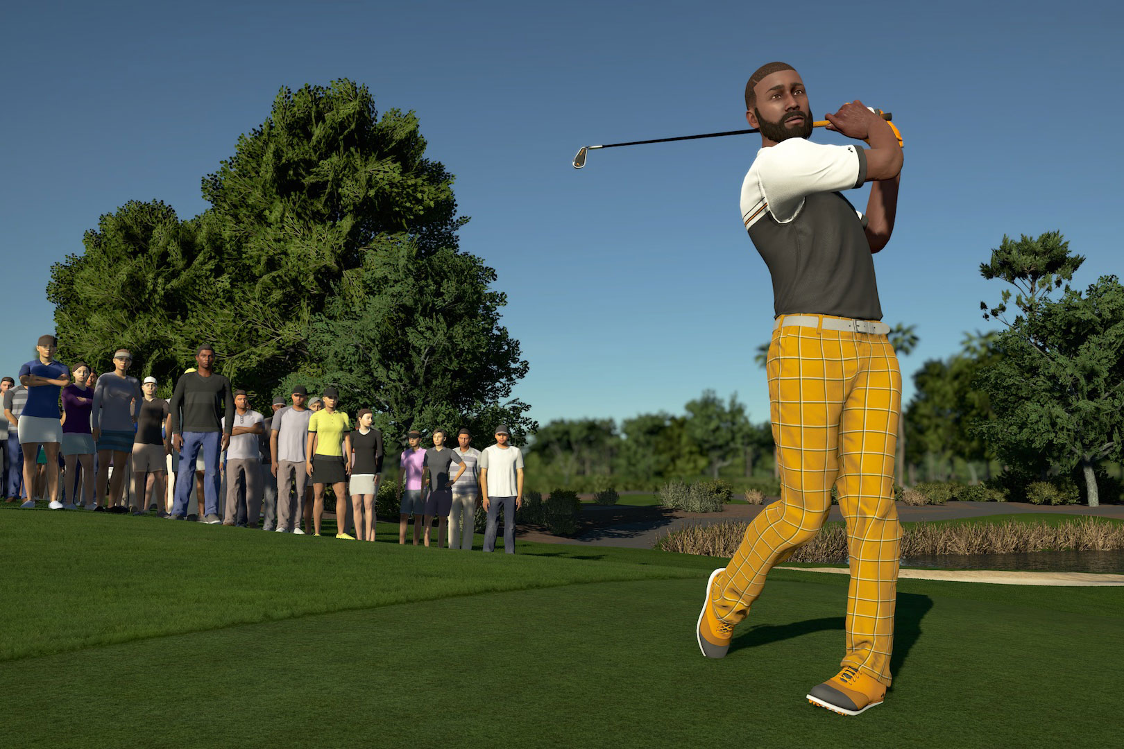 Pga Tour 2k21 Review New Golf Game Doesn T Feel That New The Washington Post