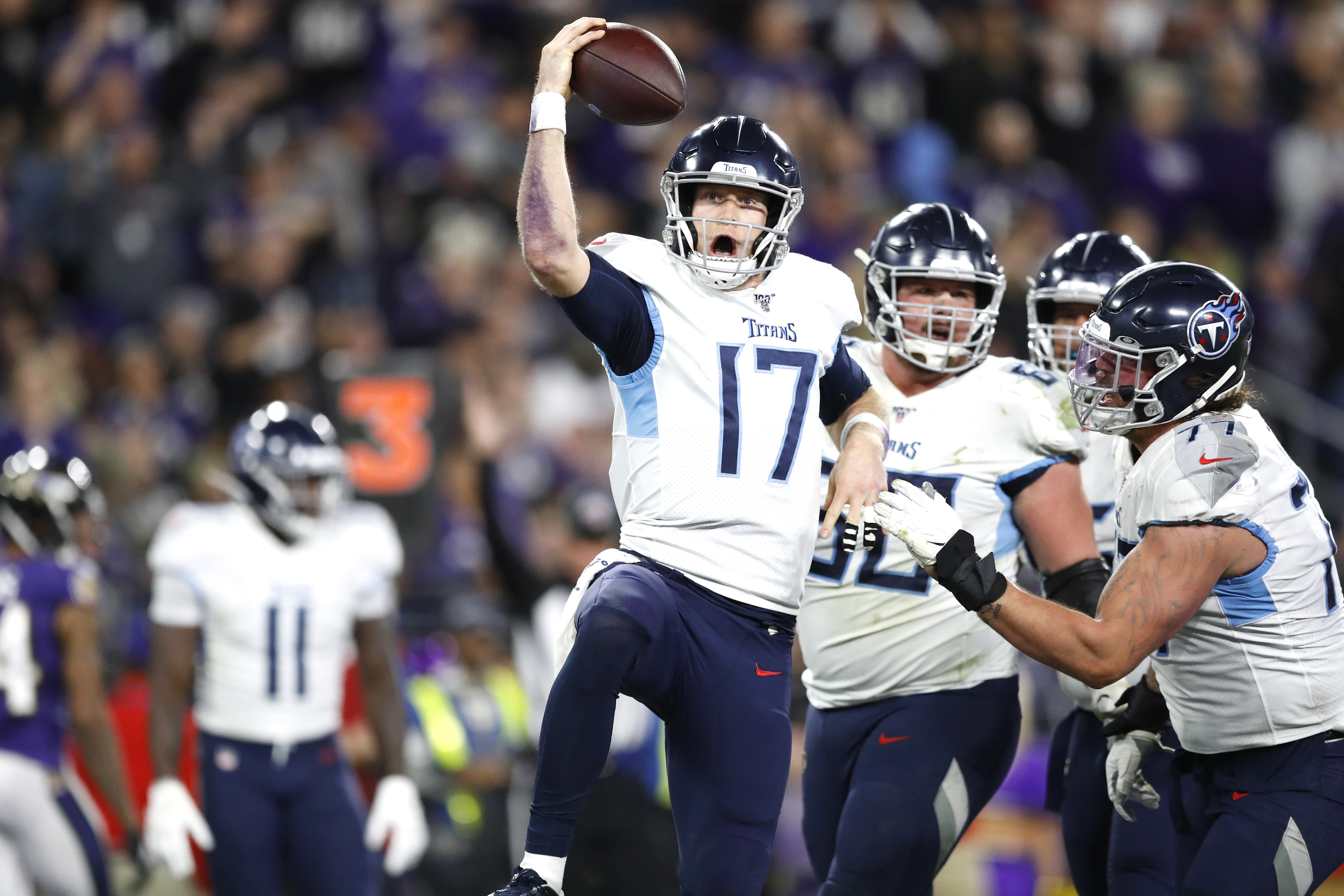 Ryan Tannehill, the Titans' unlikely savior, is one upset away from  starting the Super Bowl - The Washington Post