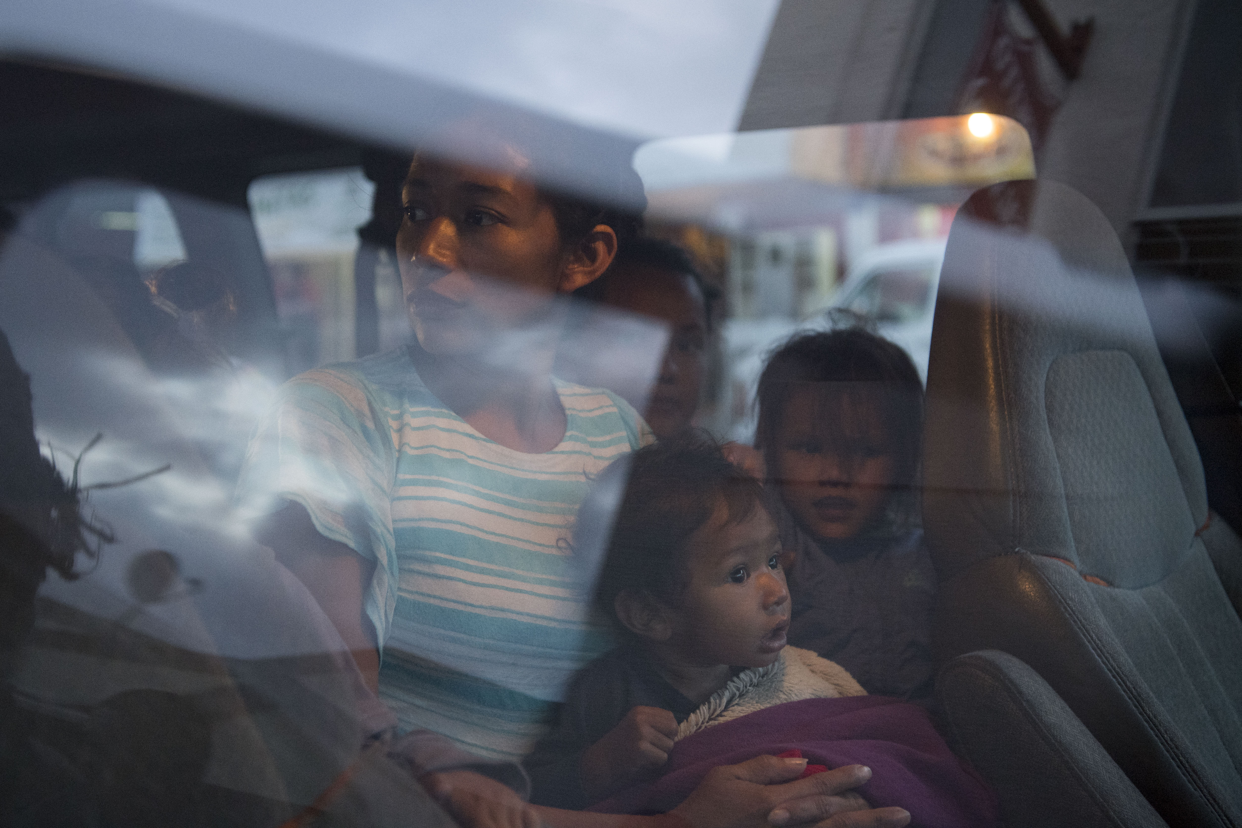 At the U S  border, a diminished migrant caravan readies for