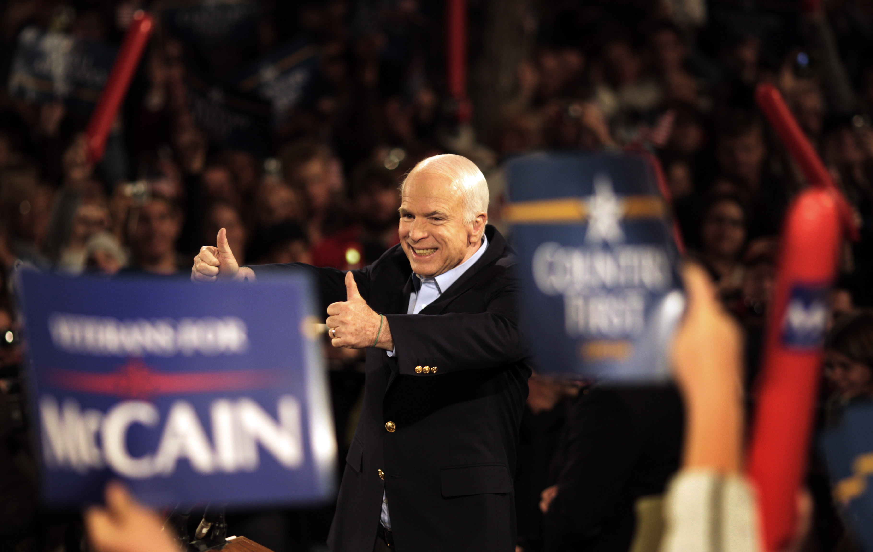John McCain, 'maverick' of the Senate and former POW, dies at 81