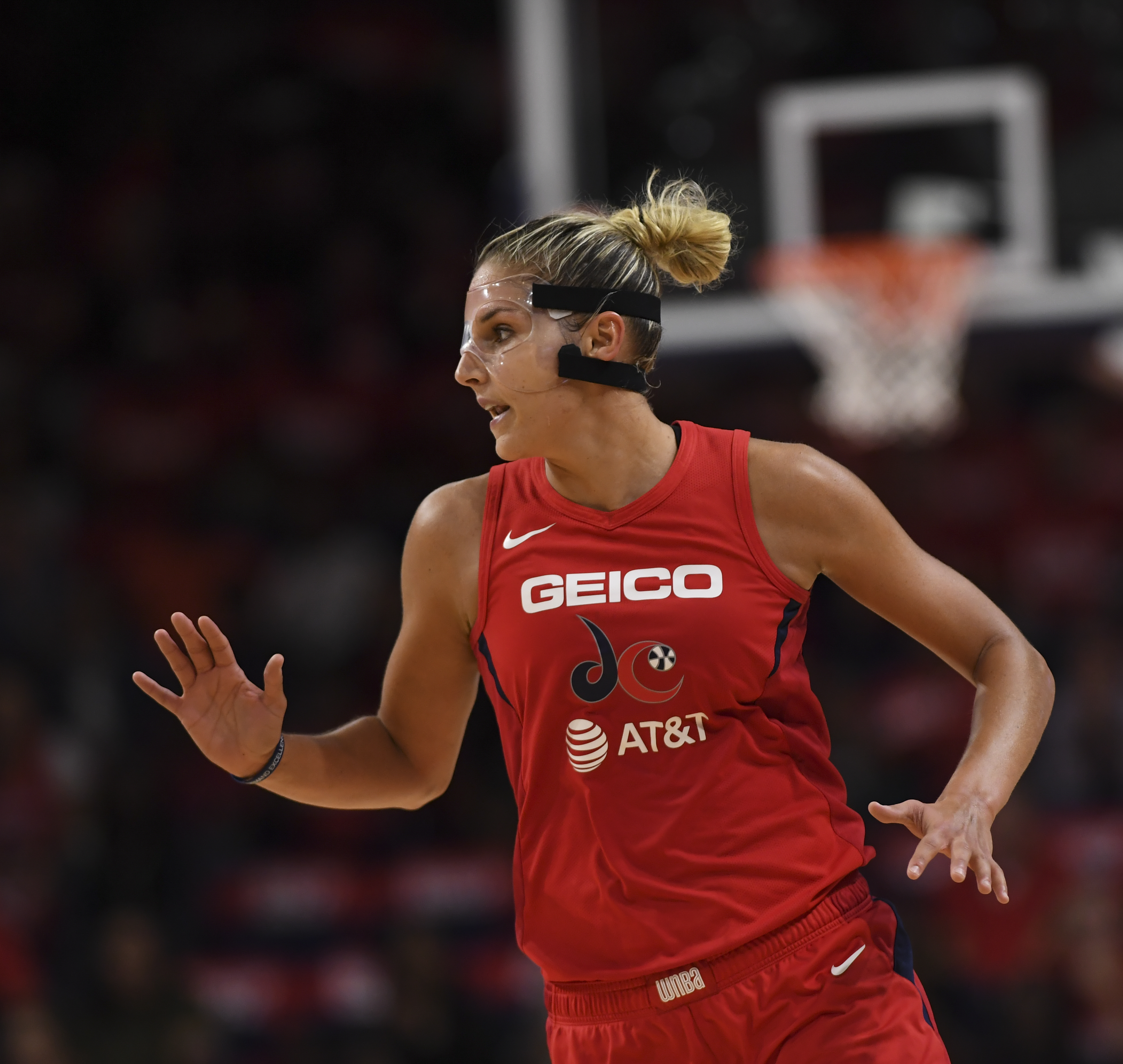 Elena Delle Donne, the WNBA's MVP, is right at home with the Mystics