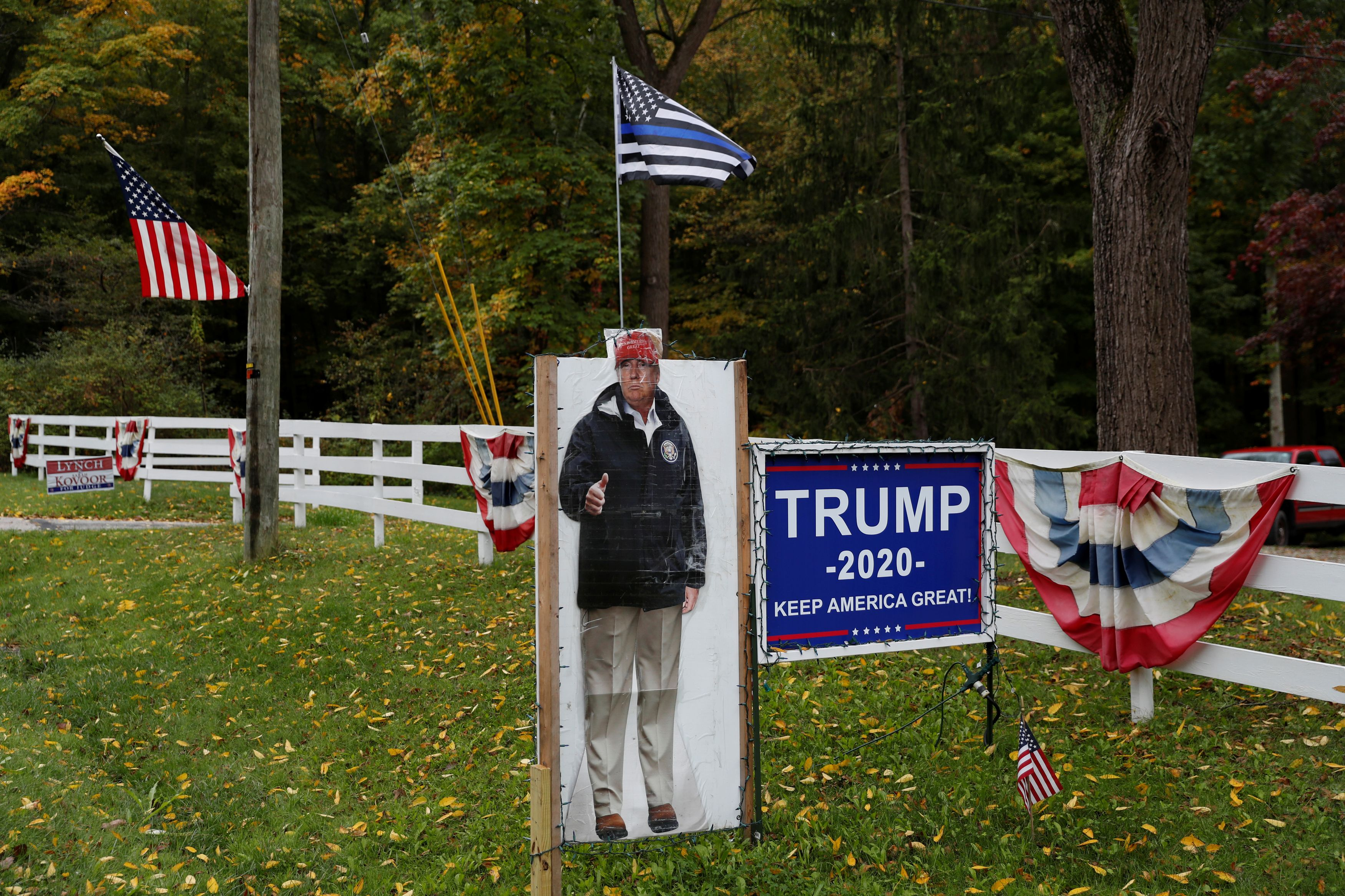 Trump No More Bullshit 2020 Vote for Trump USA President Elections Yard Sign