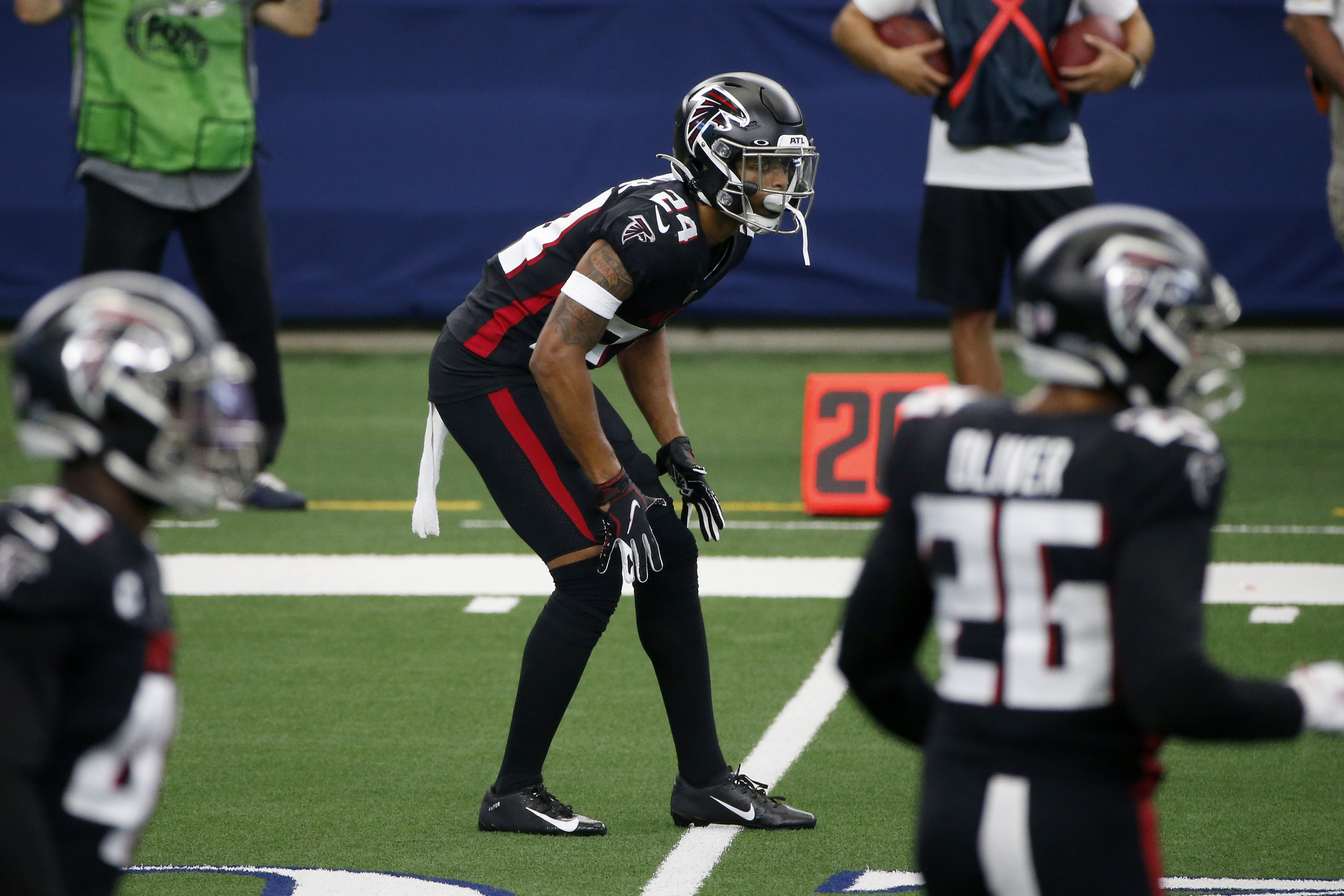 Falcons A J Terrell Placed On Covid 19 Reserve List The Washington Post