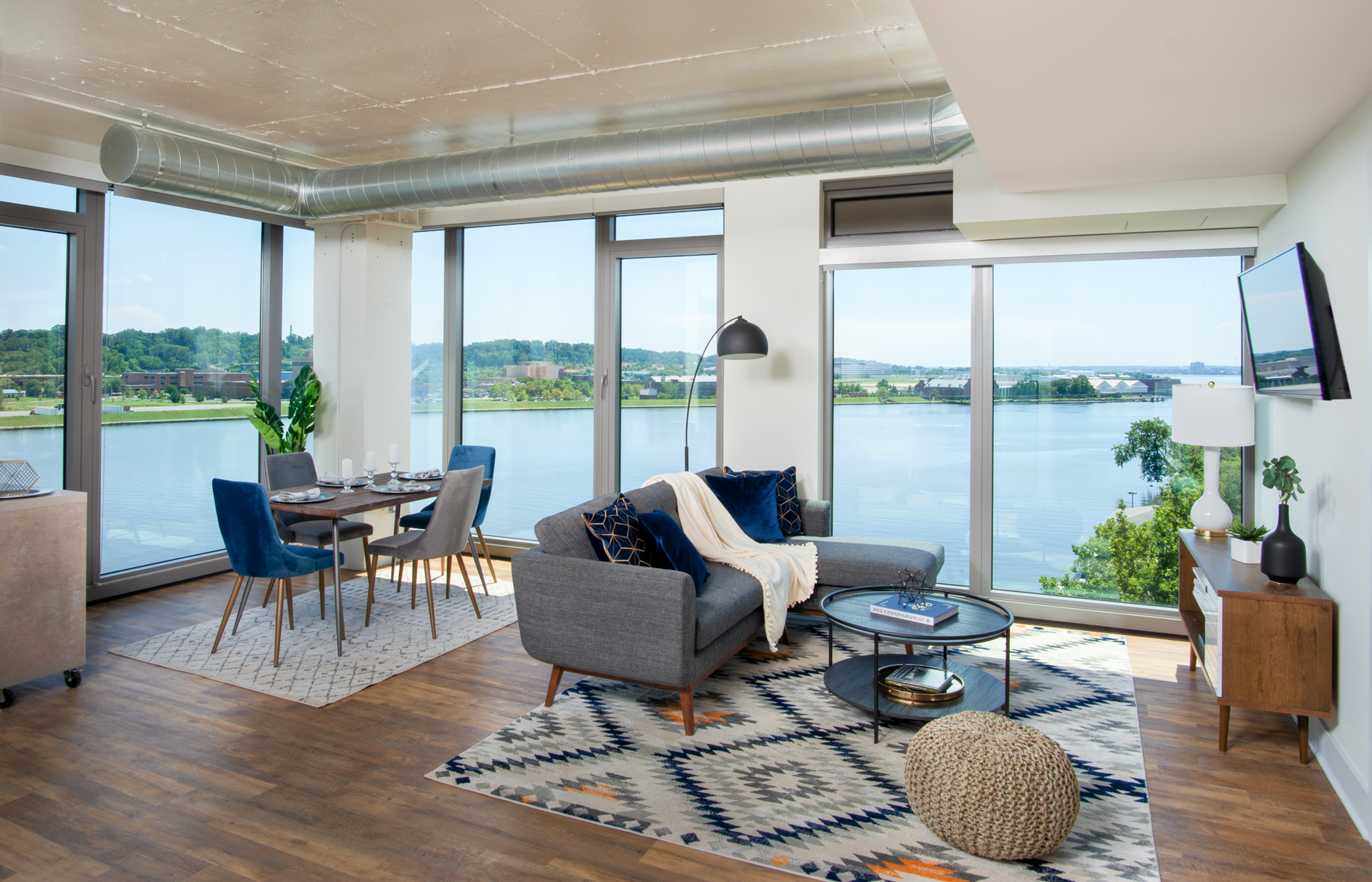 New Luxury Apartments At D C S Buzzard Point Offer Amenities And Water View The Washington Post