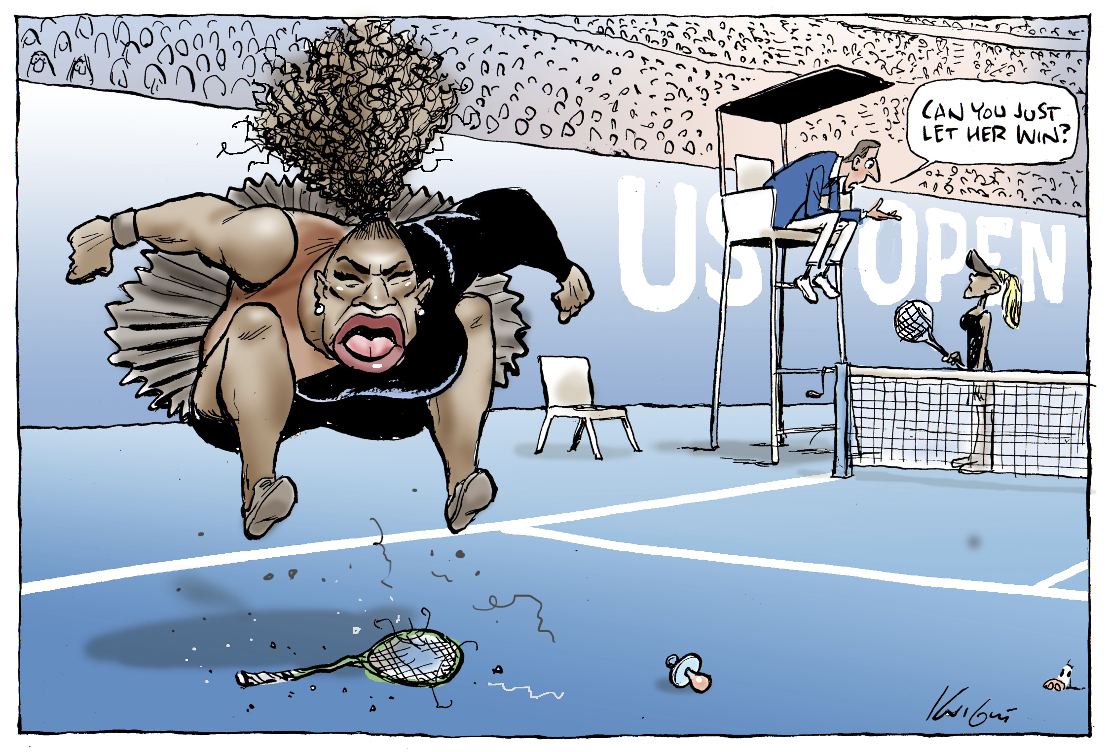 The Long History Behind The Racist Attacks On Serena Williams