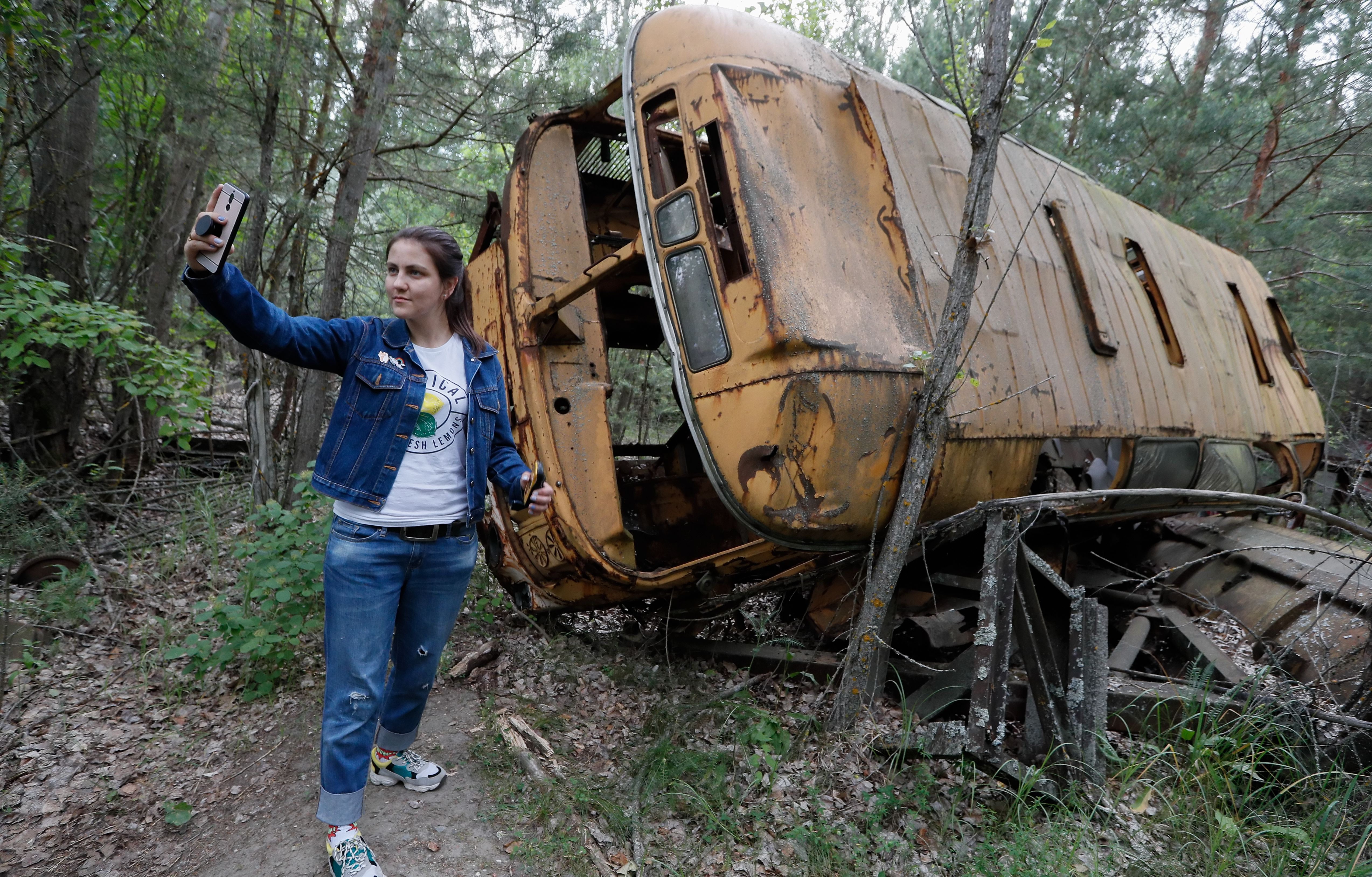 Thanks to HBO, more tourists are flocking to the eerie Chernobyl