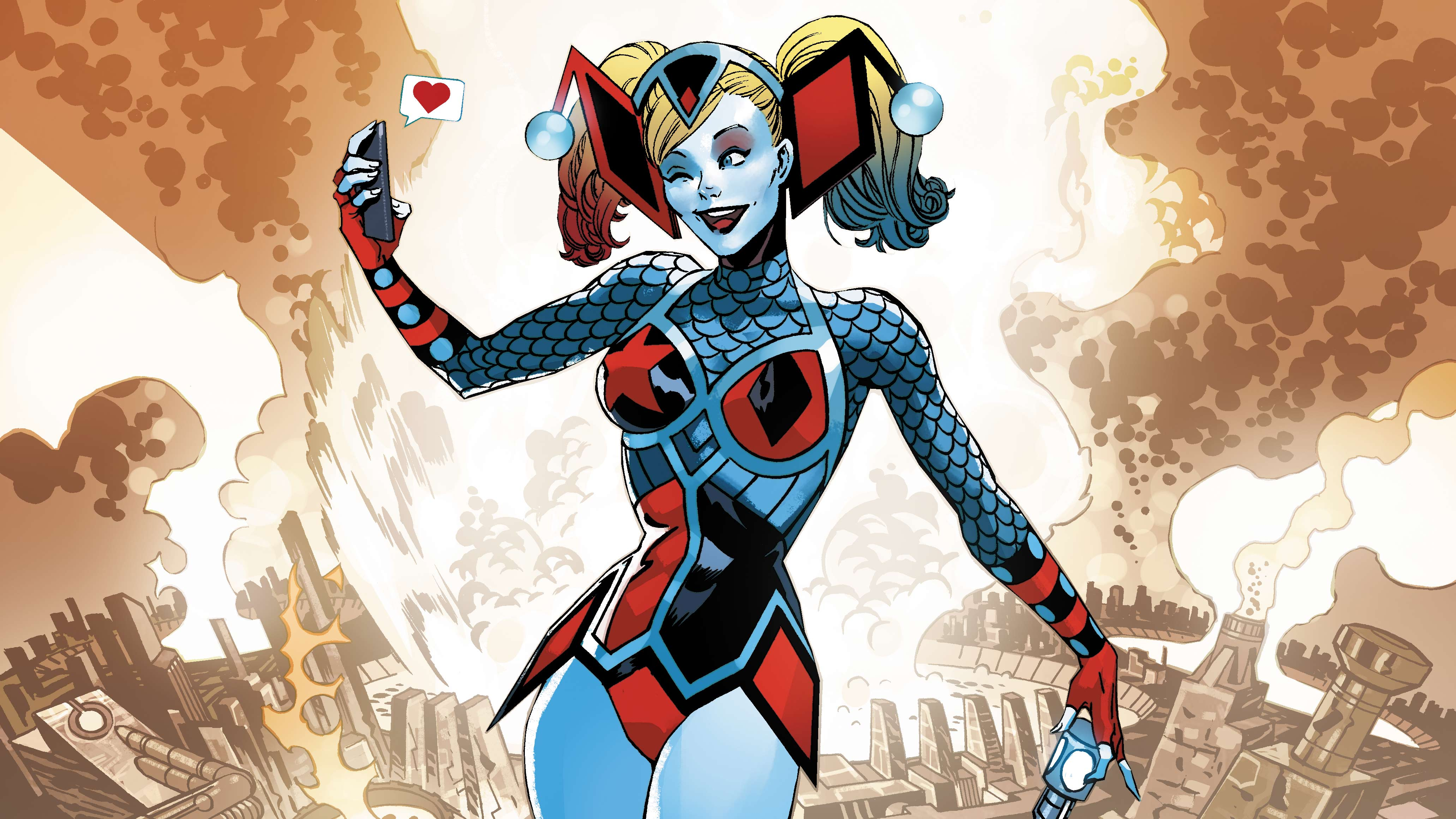 Harley Quinn Will Meet The New Gods In Comic Books This Summer The Washington Post