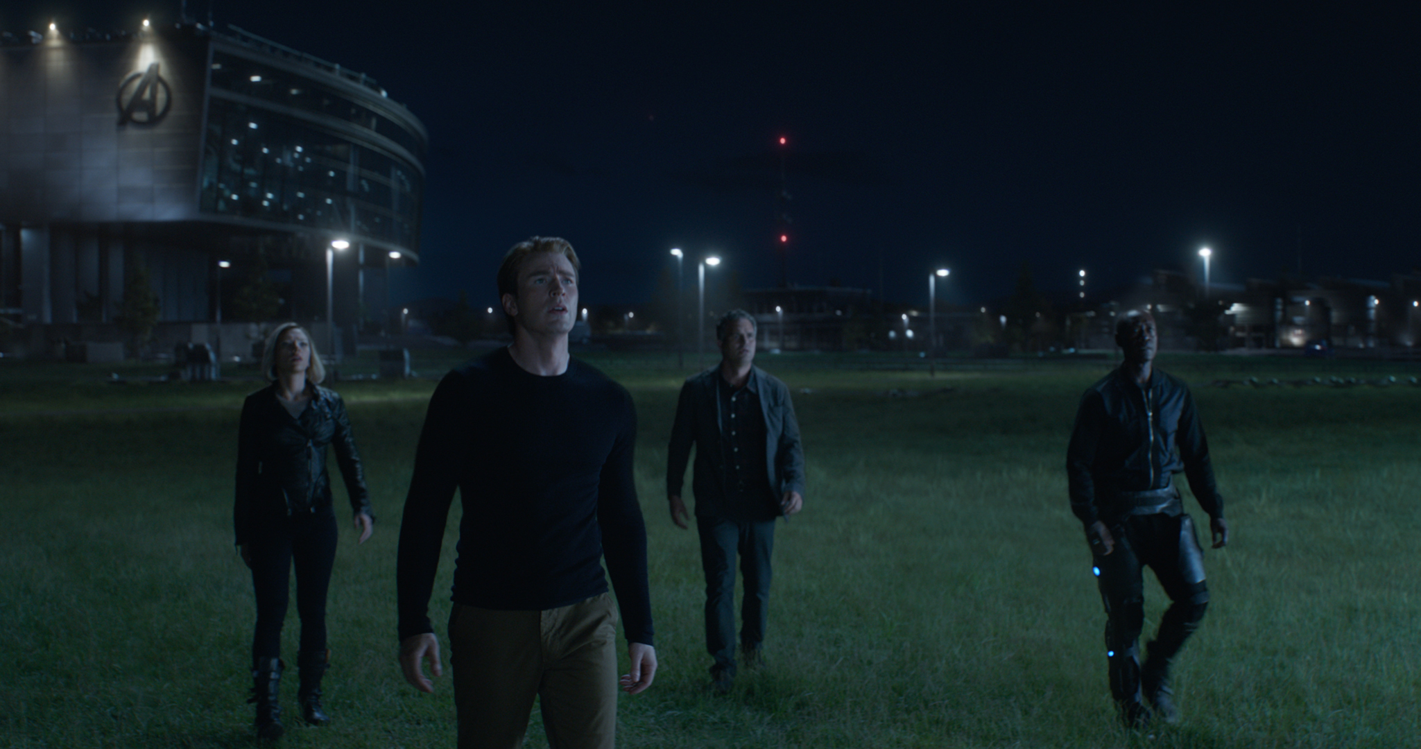 "From left: Scarlett Johansson, Chris Evans, Mark Ruffalo and Don Cheadle in ""Avengers: Endgame."" (Walt Disney Studios Motion Pictures/Marvel Studios/Film Frame)"