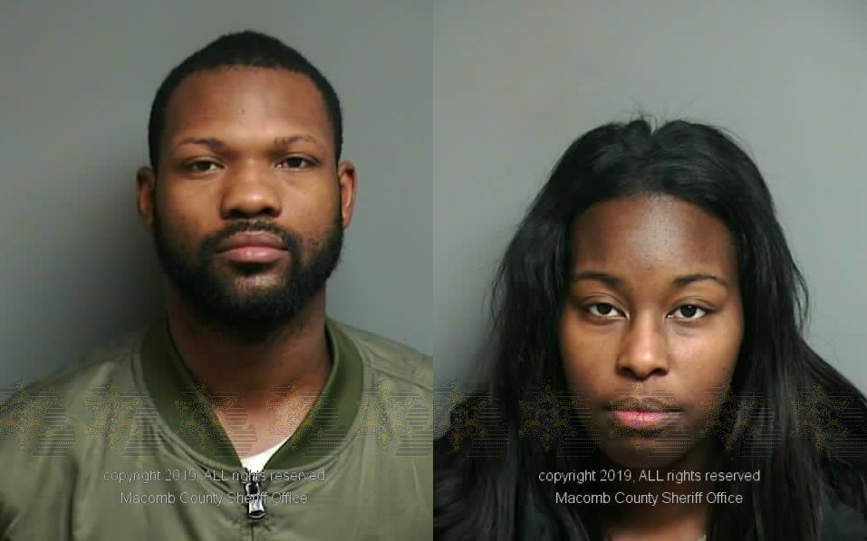 Antonio Floyd, 28, and Shantanice Barksdale, 27, are facing second-degree murder charges for the drug overdose death of their 18-month-old daughter. (Macomb County Sheriff's Office)