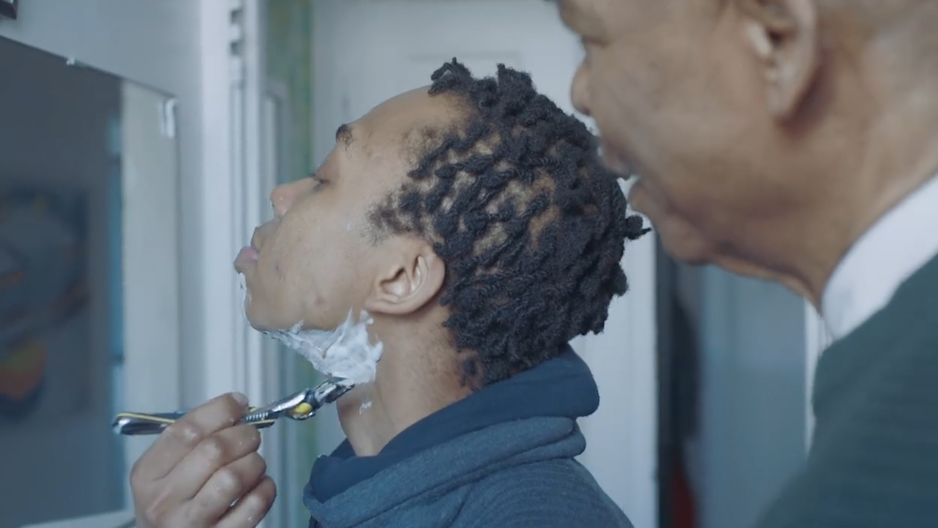 Gillette ad: 'First Shave, the story of Samson'