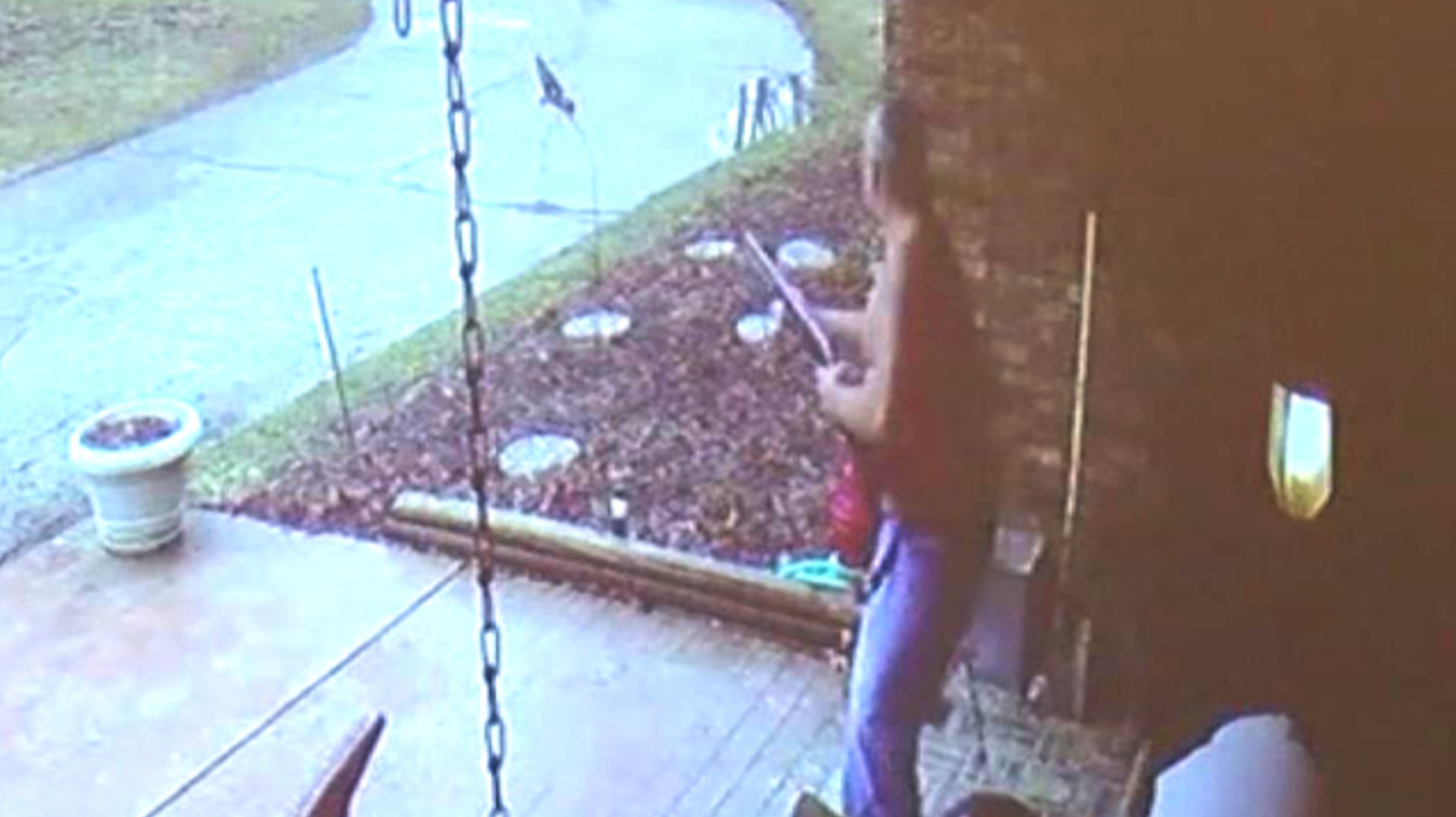 A teen missed the school bus. When he knocked on a door for directions, a man shot at him.