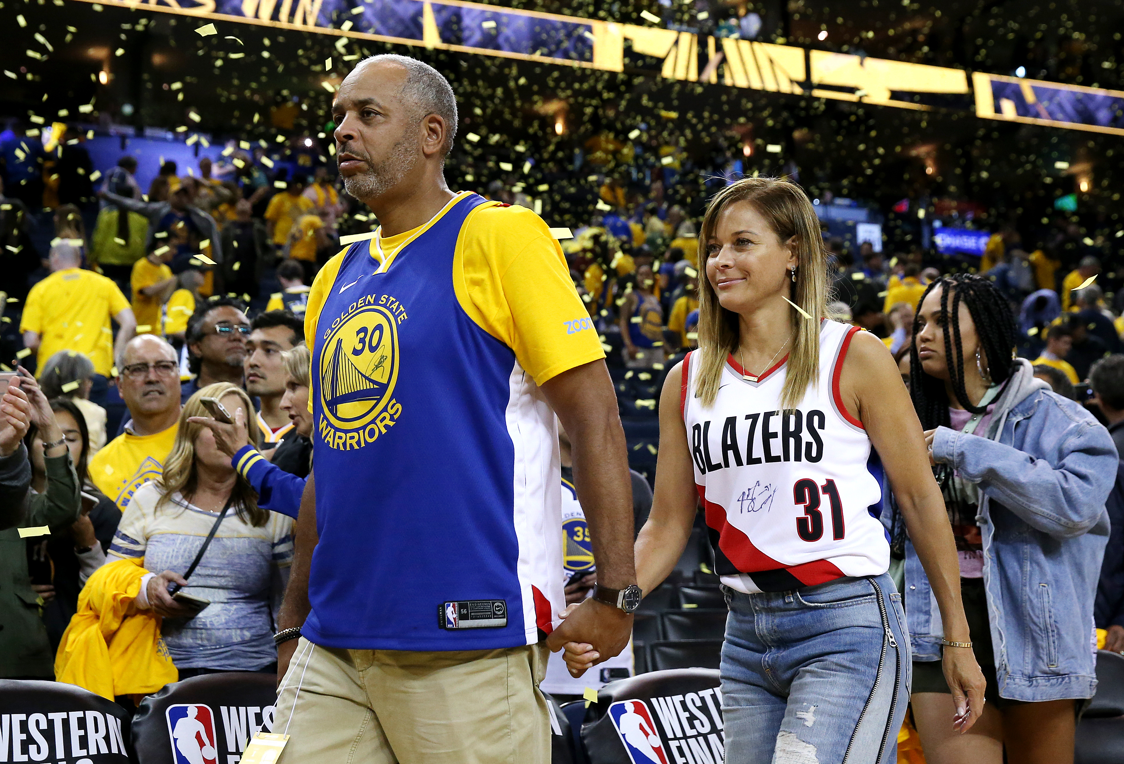 half off 29613 f29aa How Seth and Steph Curry's parents are handling the Warriors ...