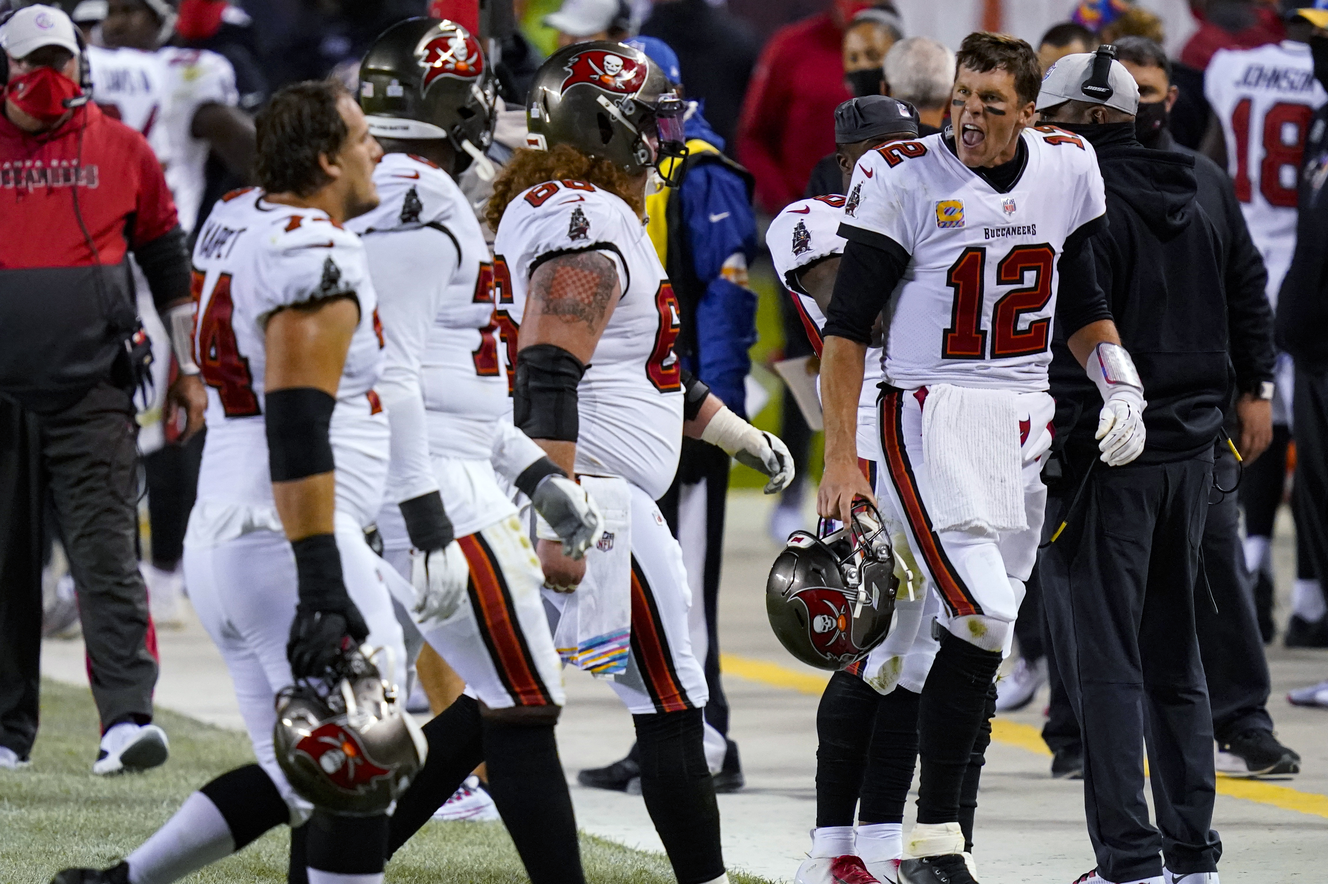 Tom Brady S Senior Moment Clinched Tampa Bay S Loss To Chicago The Washington Post