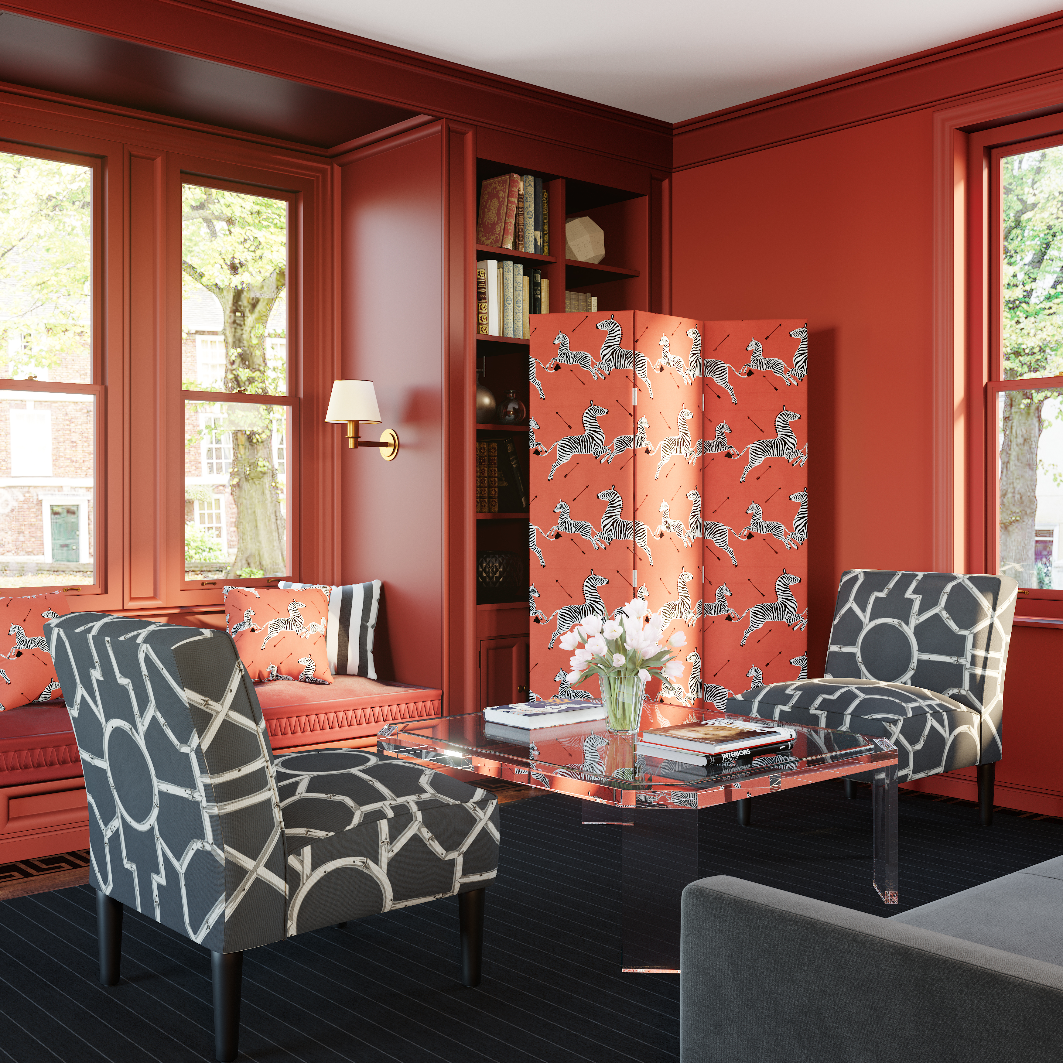Decorative Room Dividers Make An Elegant Comeback The Washington Post