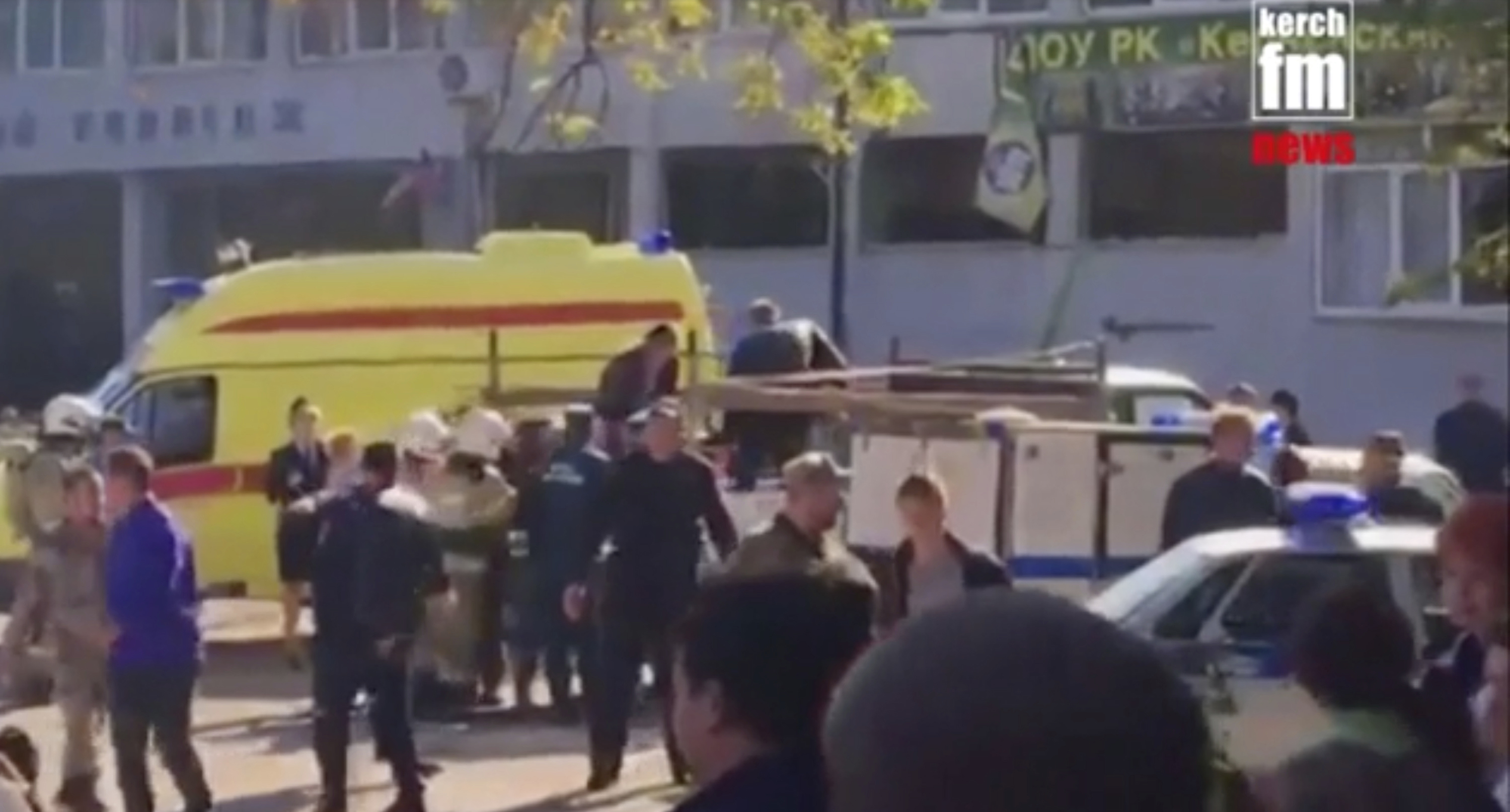 Bomb in Crimean high school kills 13, wounds 50, say Russian authorities