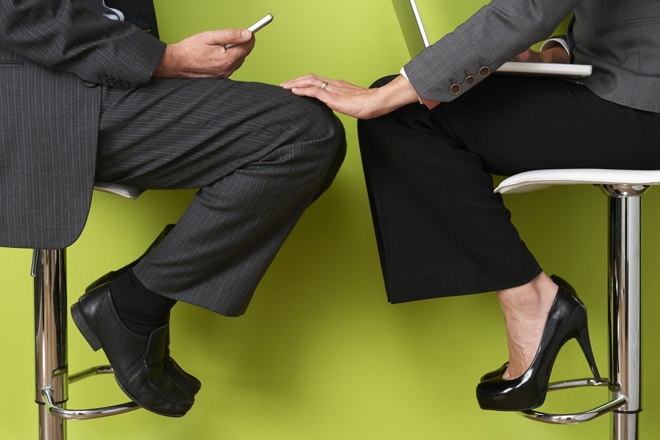Tension between signs of coworkers sexual LovePanky
