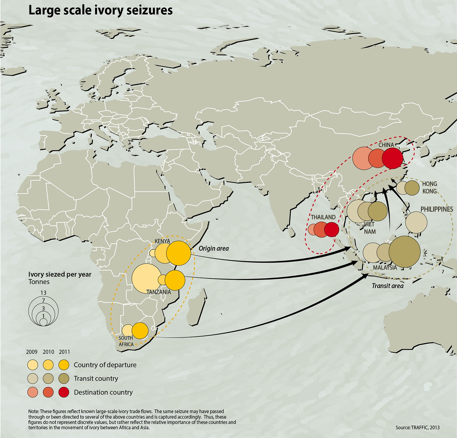 Picture of: An Alarming Map Of The Global Ivory Trade That Killed 17 000 Elephants In One Year The Washington Post