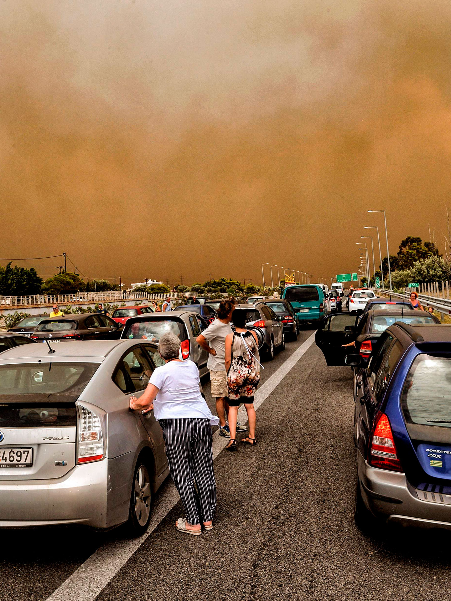 Unthinkable Tragedy What The Raging Greece Fires Look Like The