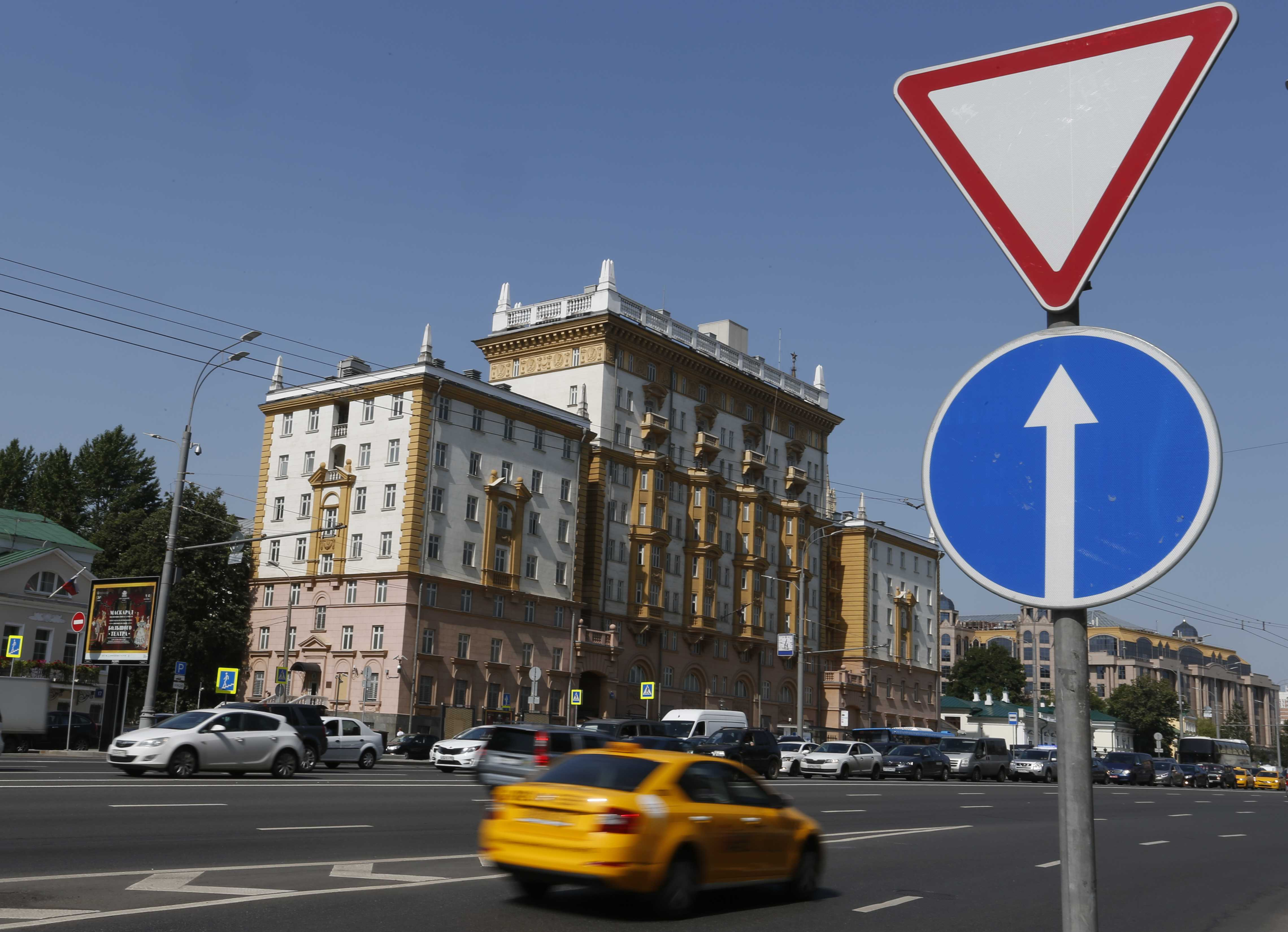 Moscow might rename the street that houses the U S  Embassy