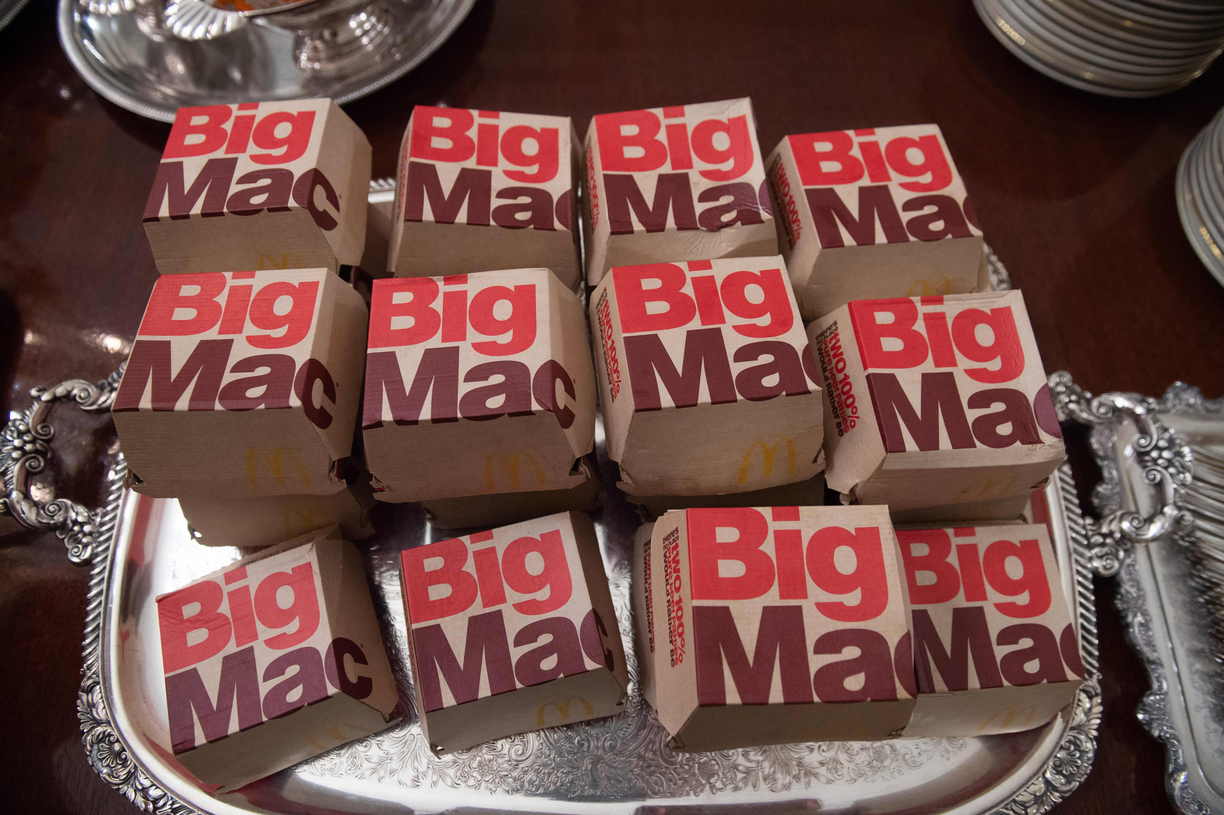 McDonald's loses Big Mac trademark. Burger King adds 'Like a Big Mac, but actually big.'