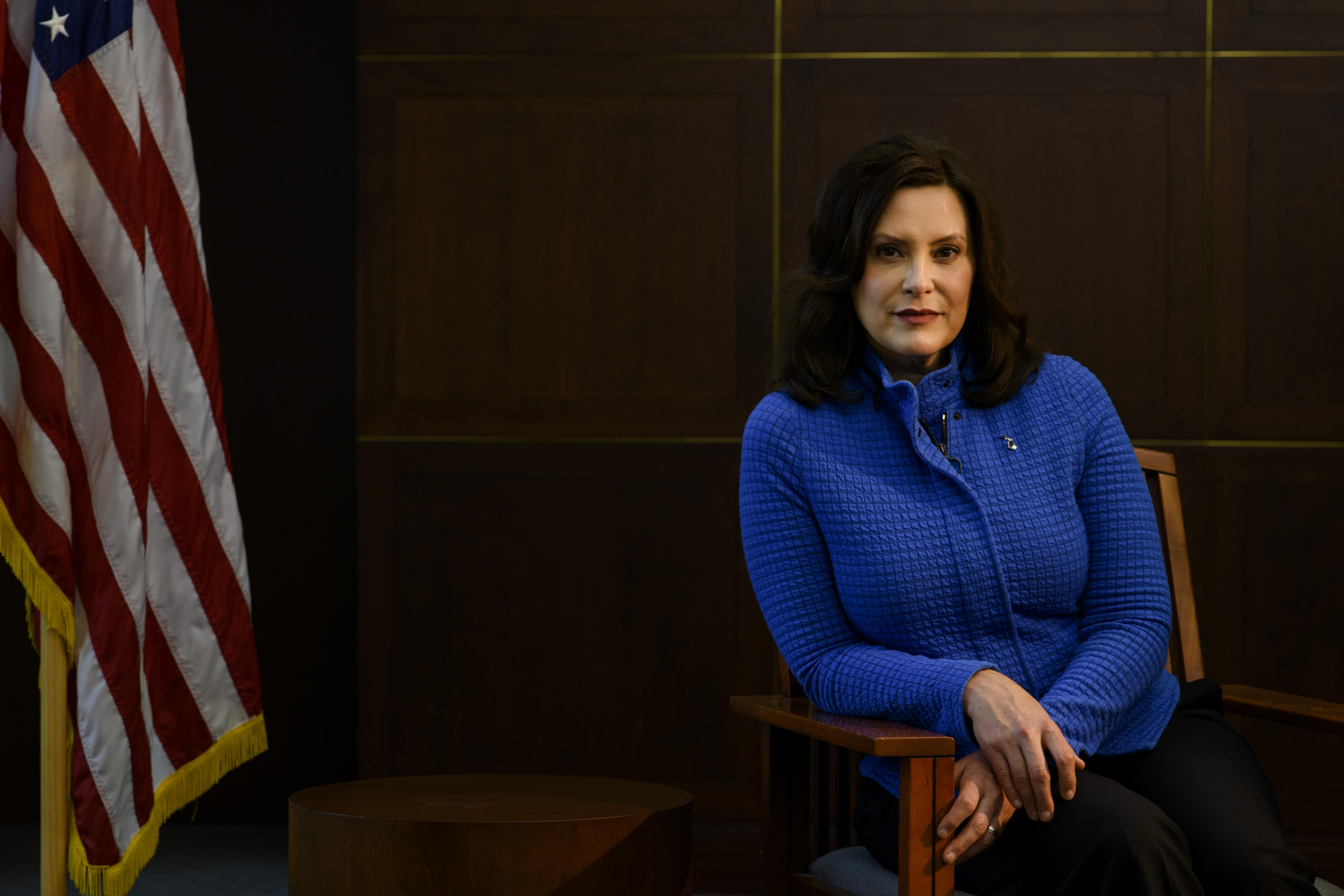 Gretchen Whitmer S Turbulent Rise The Washington Post