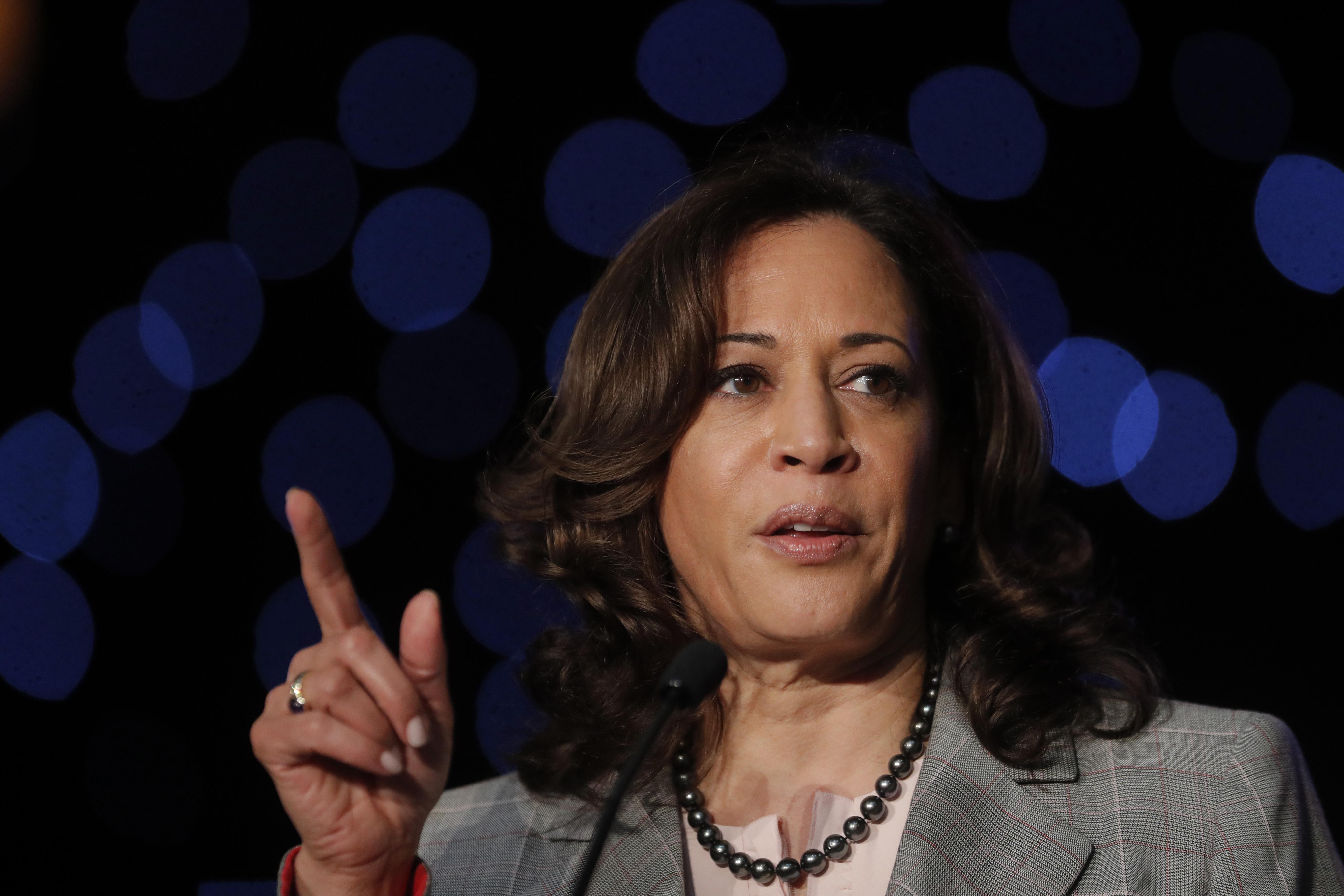 Kamala Harris Promises To Regulate Guns The Washington Post