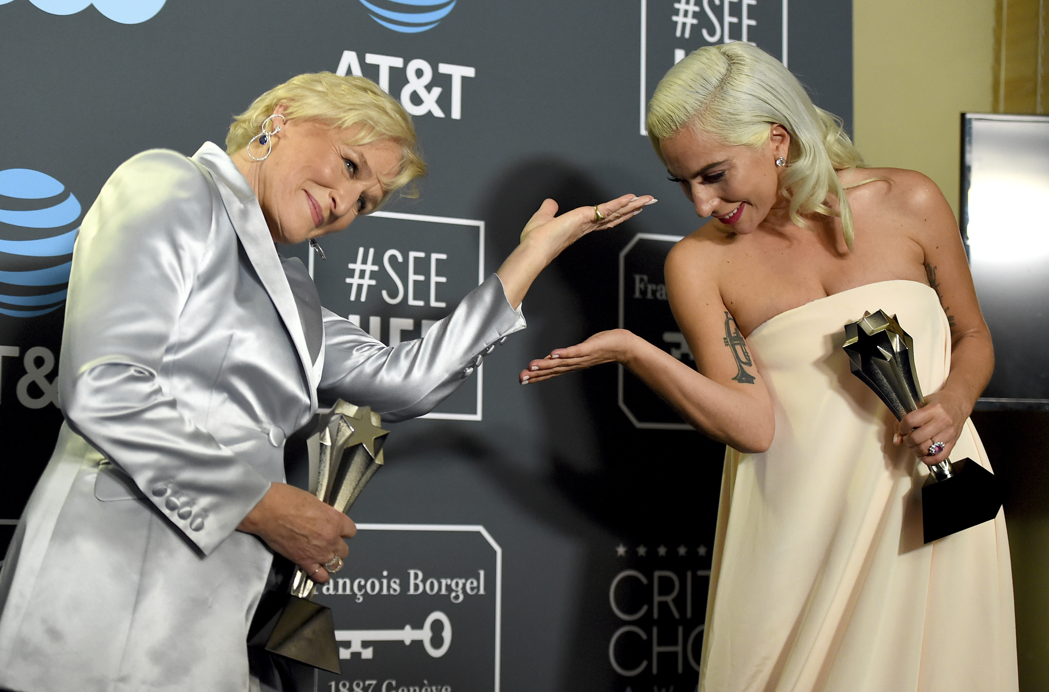 Lady Gaga And Glenn Close Tie For Best Actress At The Critics