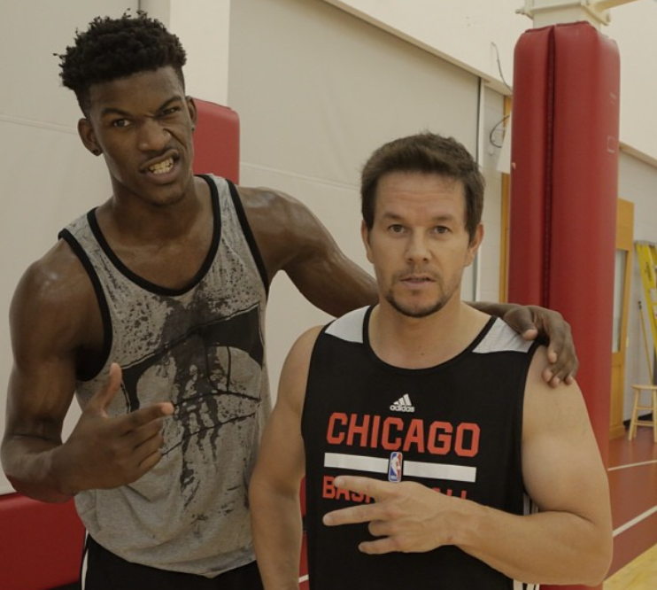 T Wolves Fans Who Are Mad At Jimmy Butler Apparently Can Blame Mark Wahlberg The Washington Post