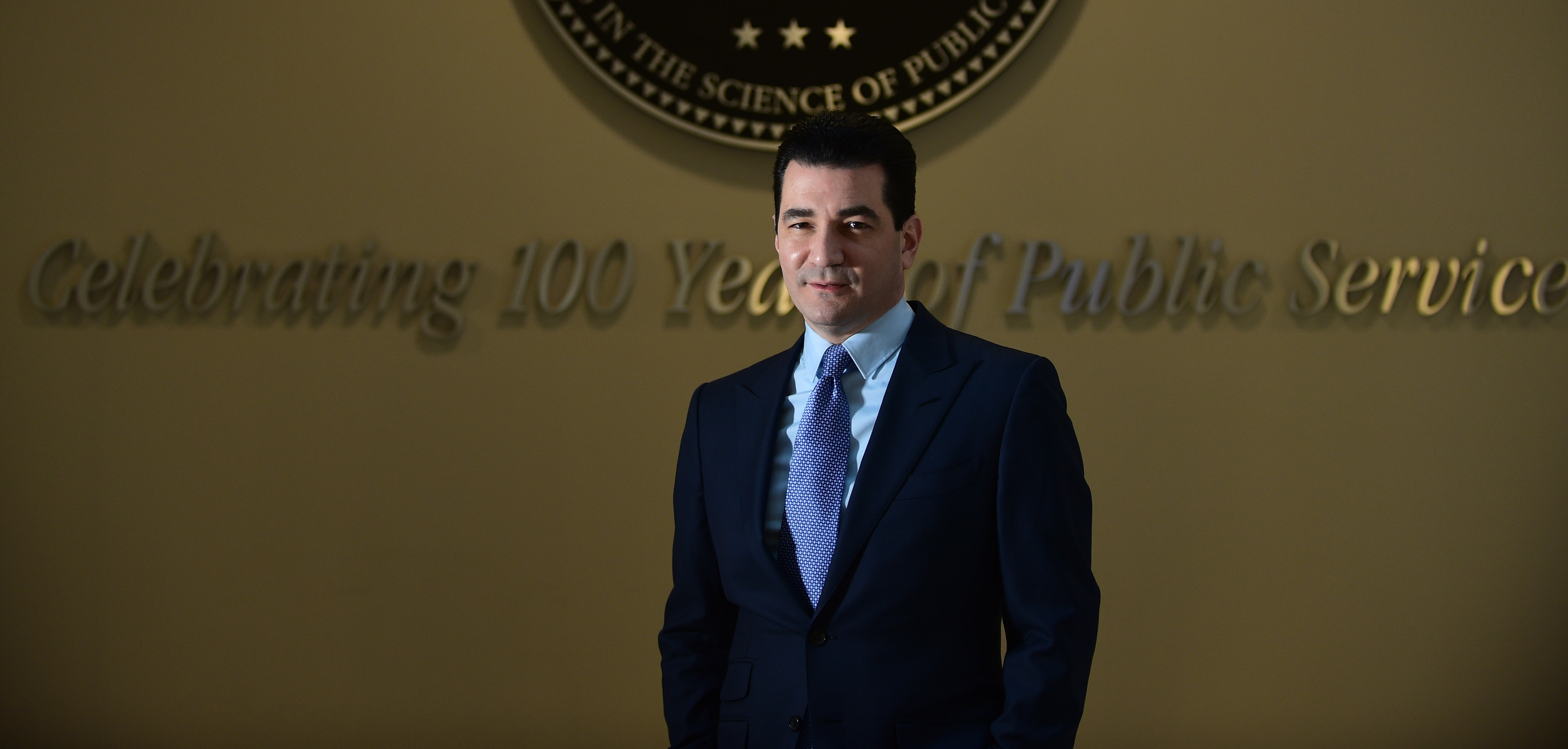Scott Gottlieb, commissioner of the Food and Drug Administration, said Tuesday that the FDA would announce a major initiative this week to curb youth vaping and smoking. (Astrid Riecken for The Washington Post)