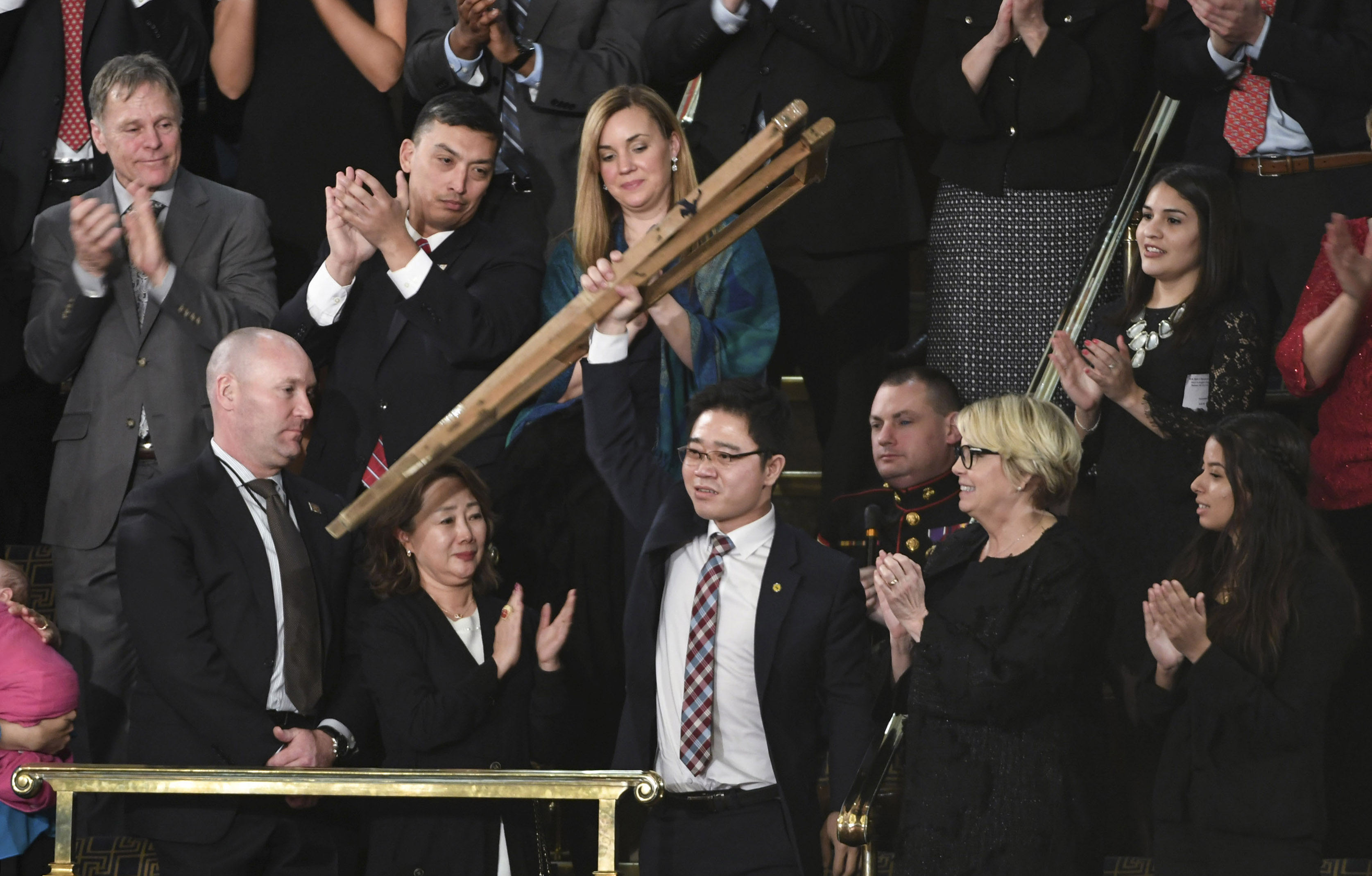Who is Ji Seong-ho, the North Korean defector at Trump's State of