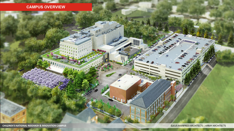 Pediatric medical center supported by United Arab Emirates to open at former Walter Reed site