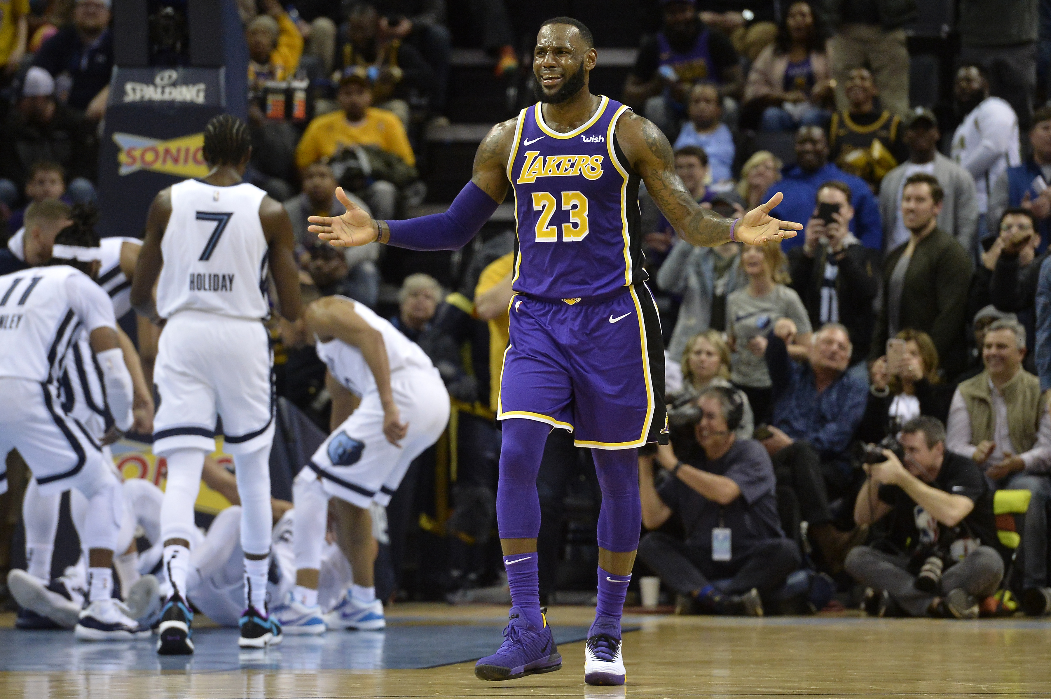 hot sale online 6a0a9 3c9eb LeBron James can only blame teammates so much after another ...