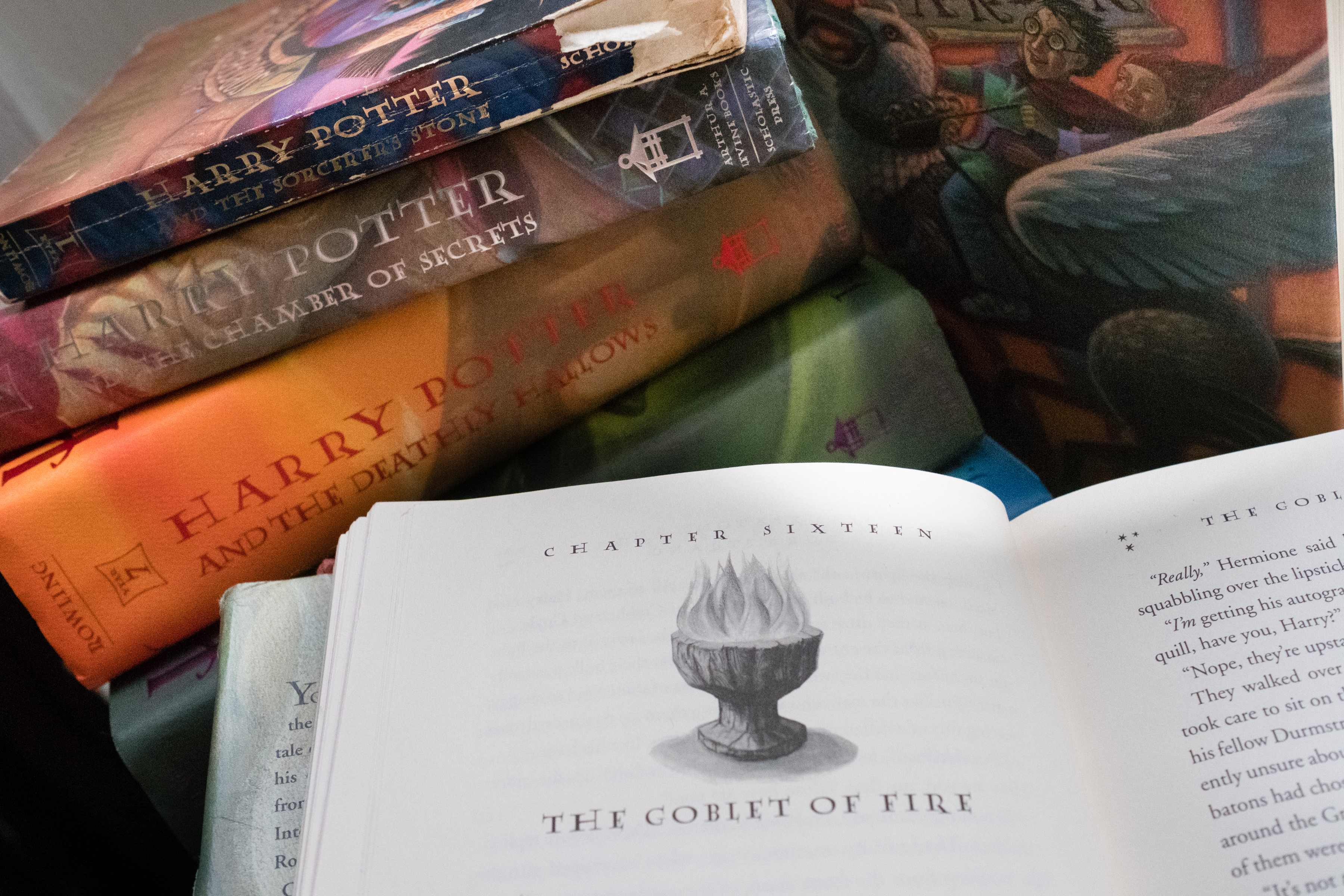 Harry Potter books removed from St  Edward Catholic School