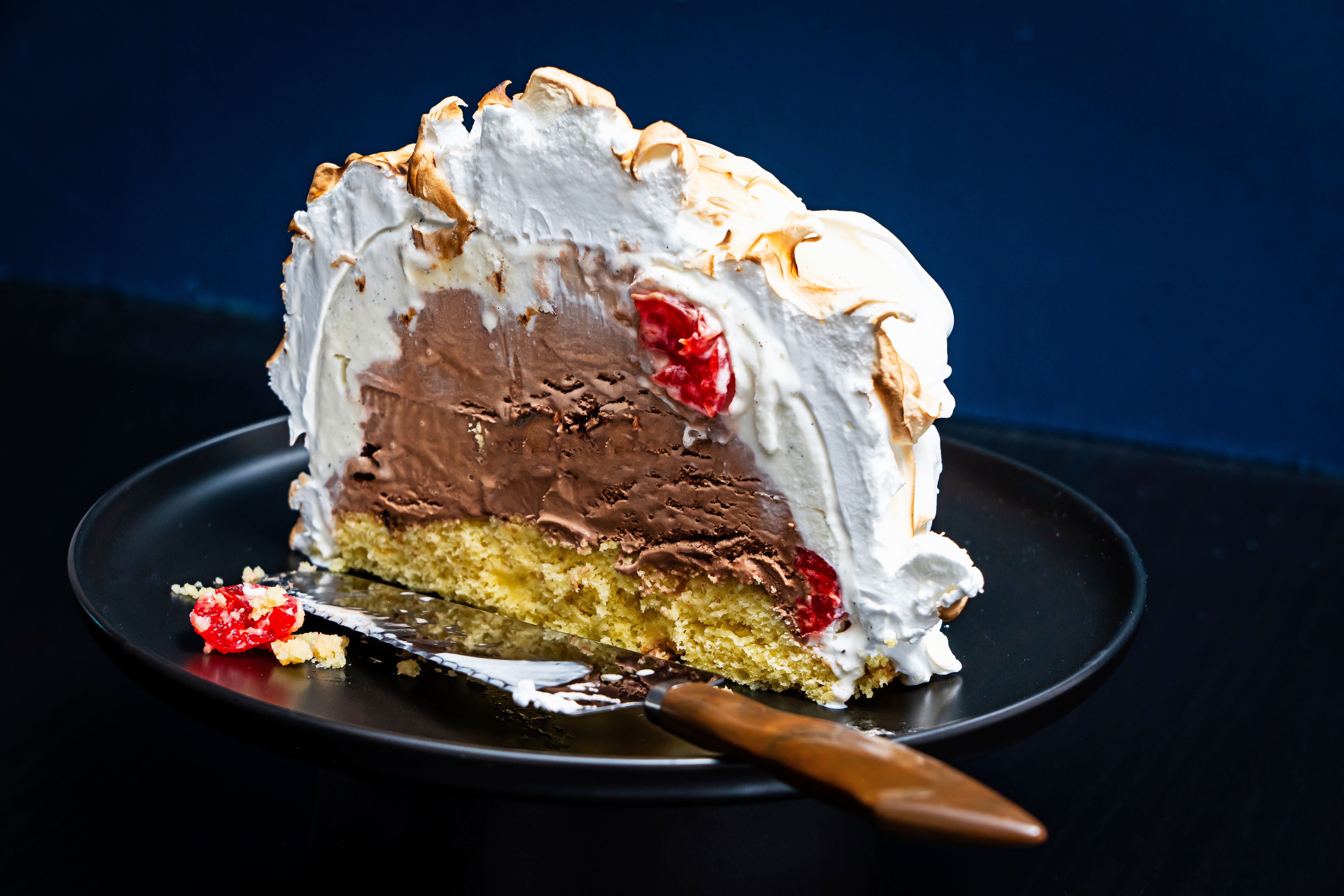 An Easy Baked Alaska Dessert Recipe To Send Off The New Year The Washington Post