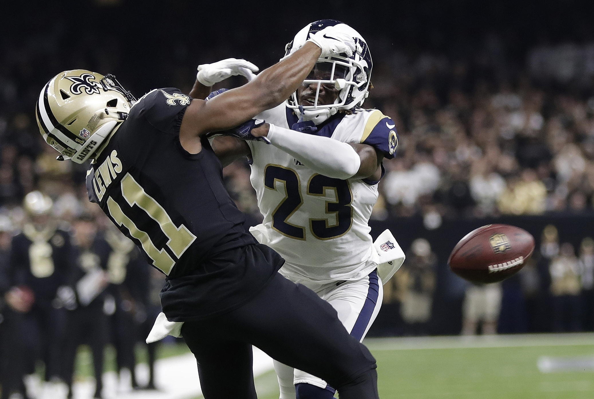 Saints-Rams no-call