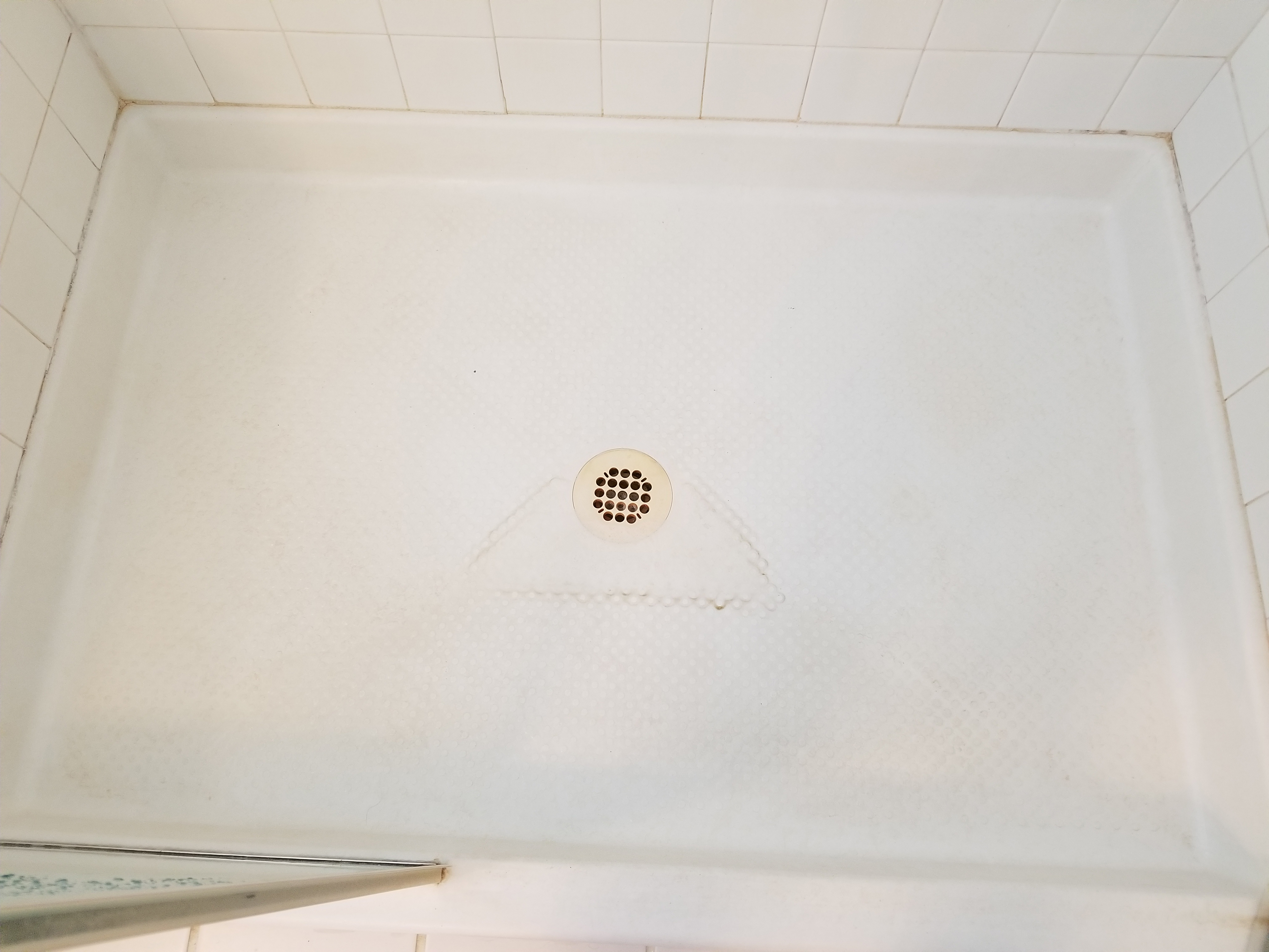 How To Remove A Stain From A Fiberglass Shower Floor The