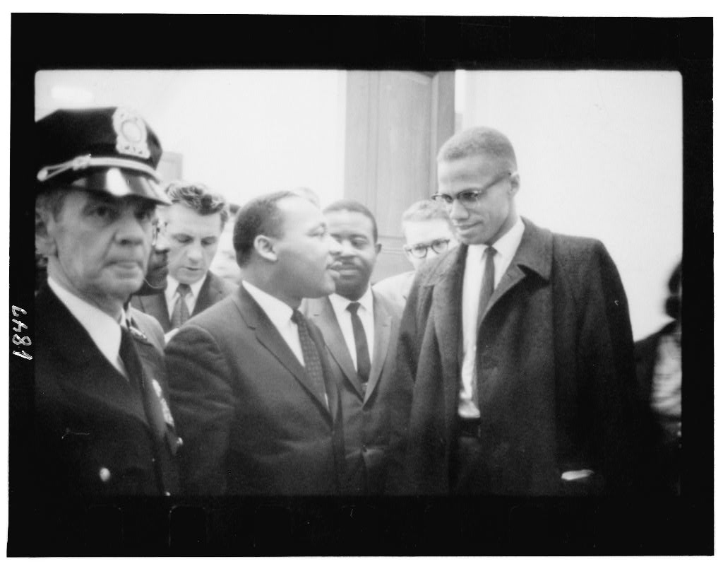 Malcolm X Photograph Vintage Photo from 1964