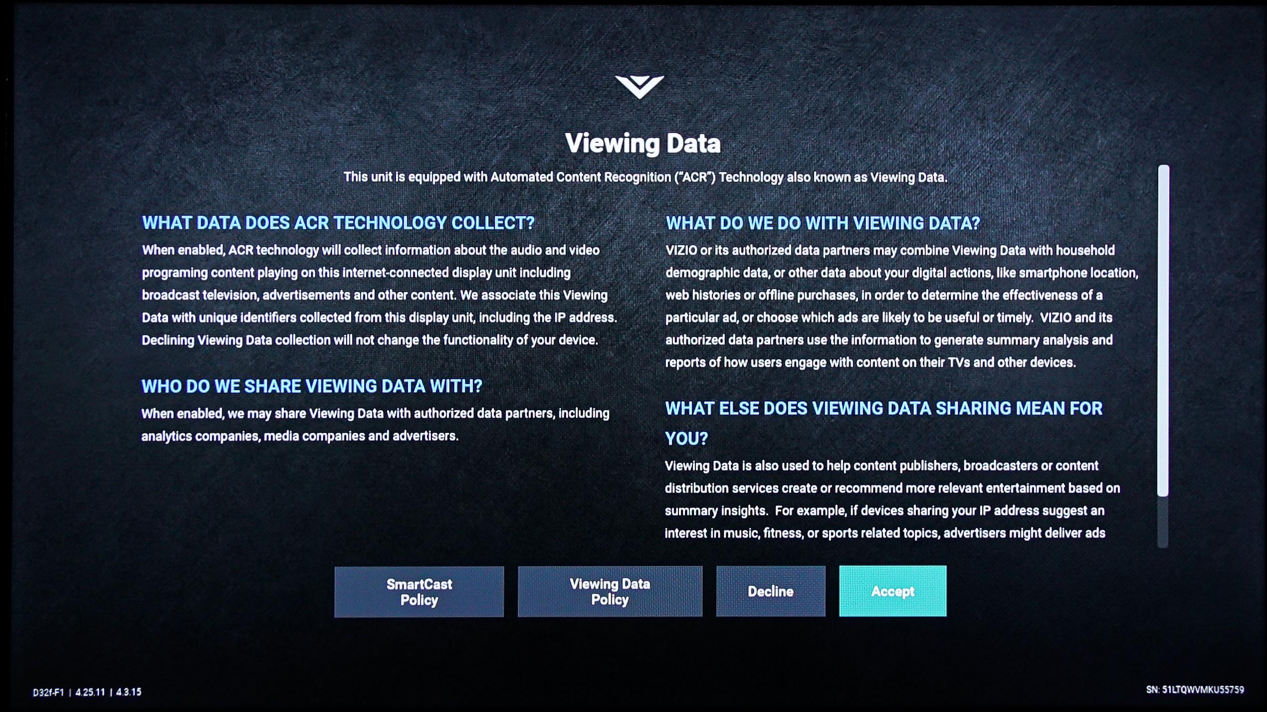 Smart TVs like Samsung, LG and Roku are tracking everything