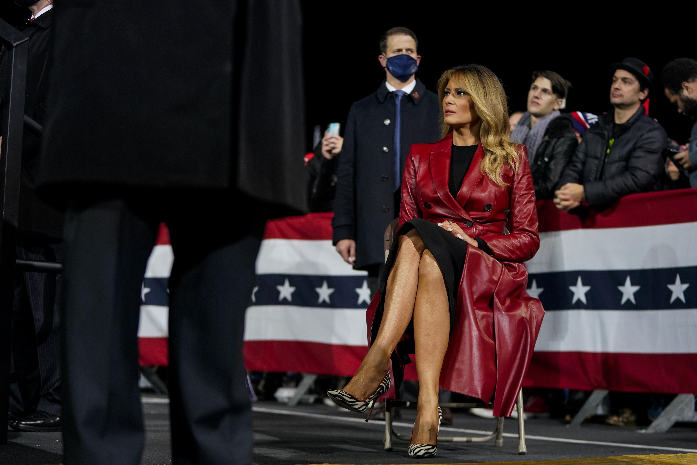 Melania Trump Denounces Violence But Calls Passion Of Trump Supporters Inspiring The Washington Post