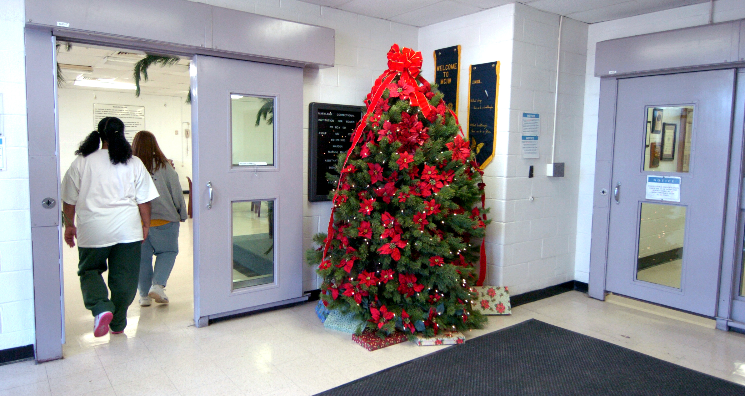 Christmas In Prison.The Latest Chapter In The Unfolding Scandal Of The American