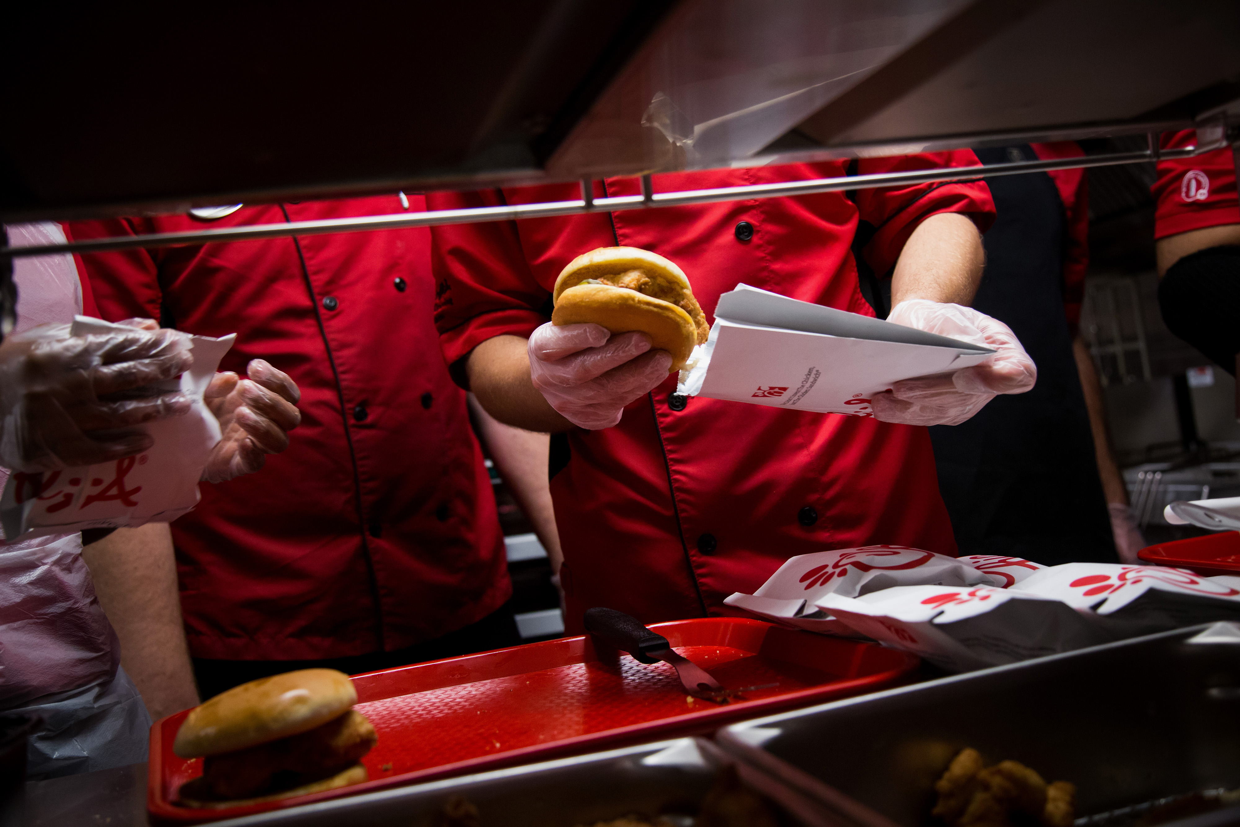 The sky is falling for fast food, but not for Chick-fil-A. Here's why.