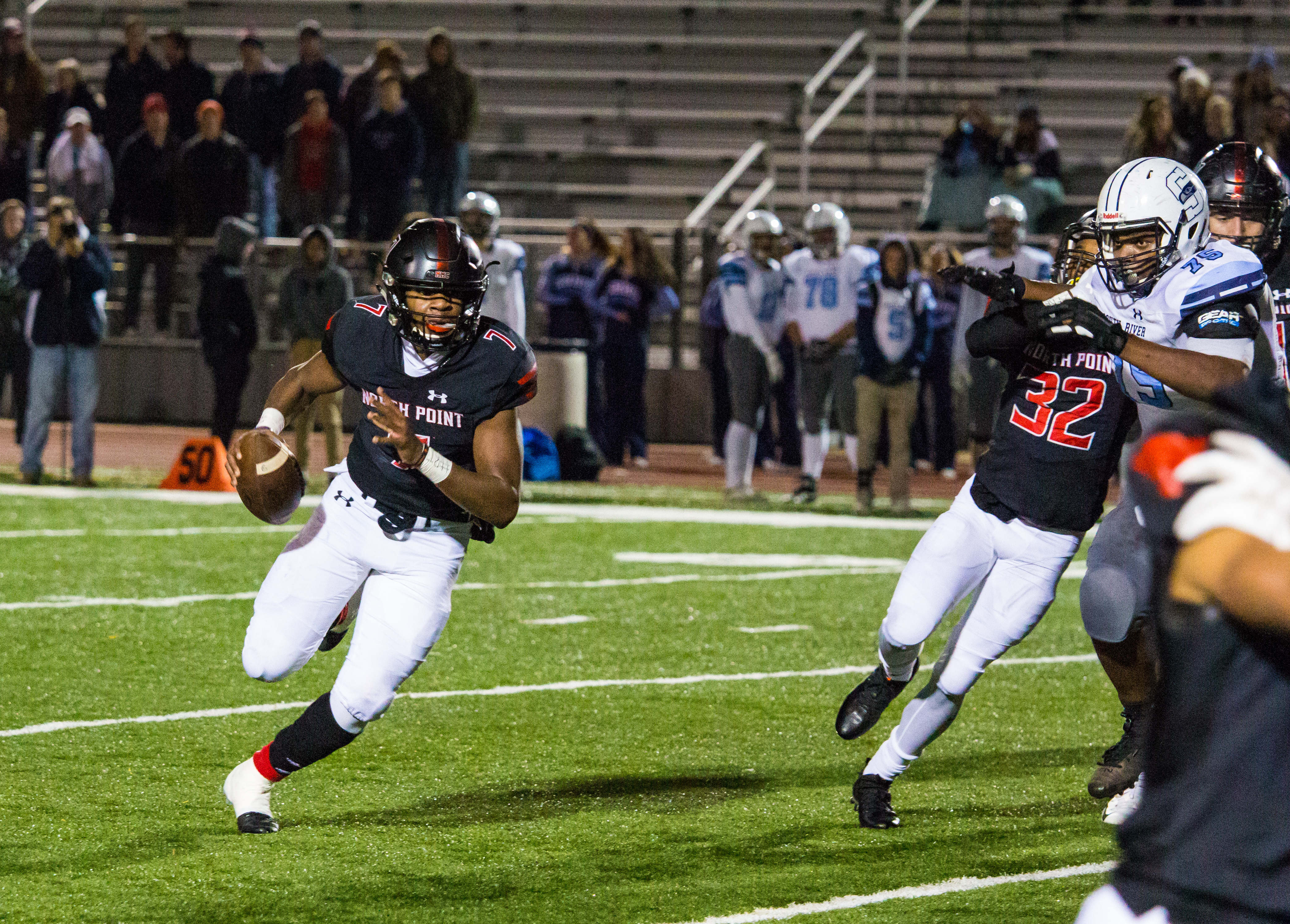 a8e3f3fac0b13 High school football notebook: North Point, Glenelg reach state title game  for first time