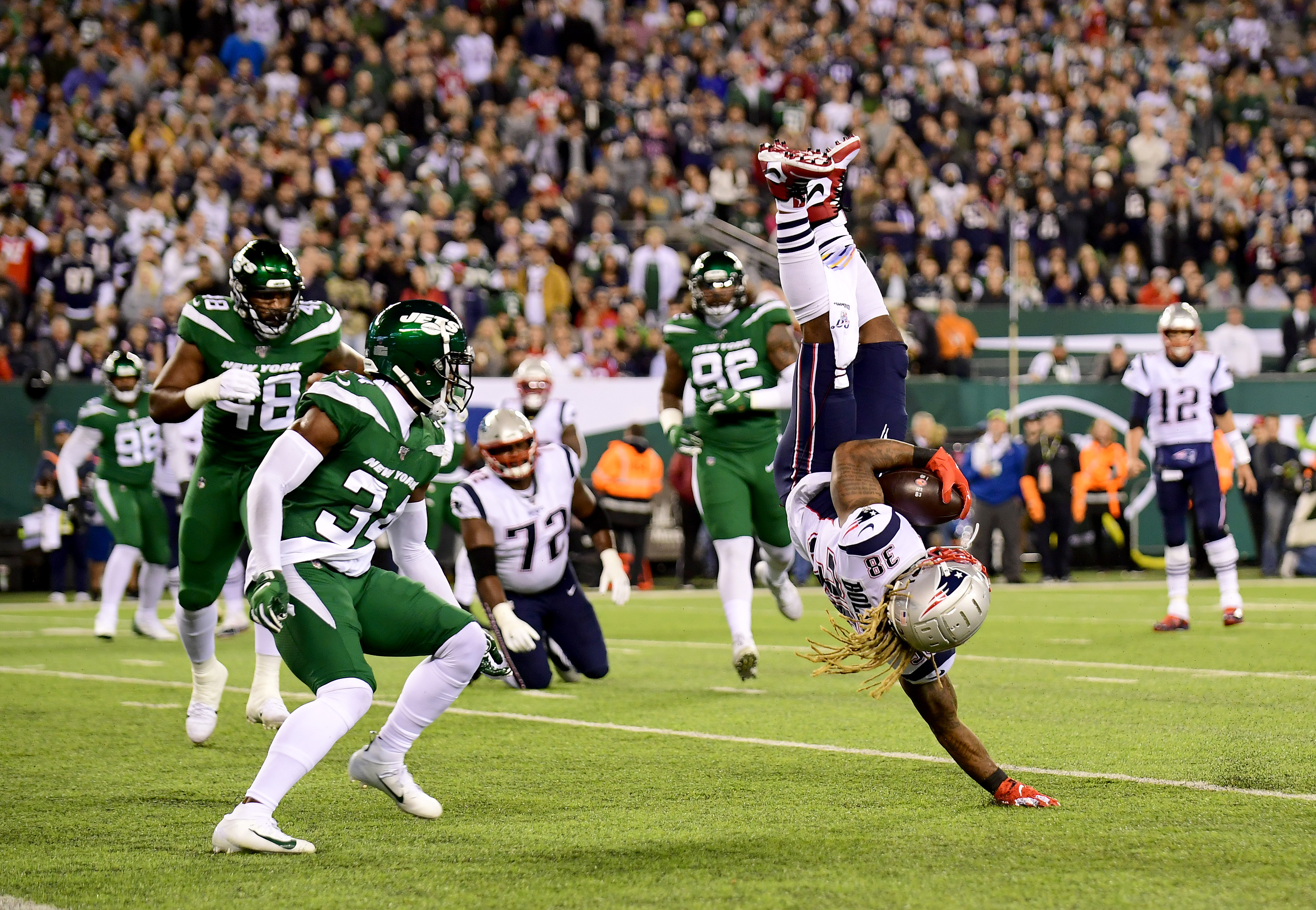 Patriots Jets New England Routs New York In 33 0 Win The